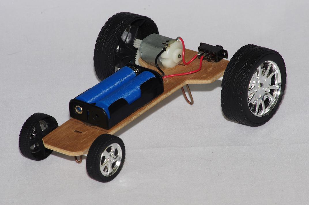 Simple motorised vehicle