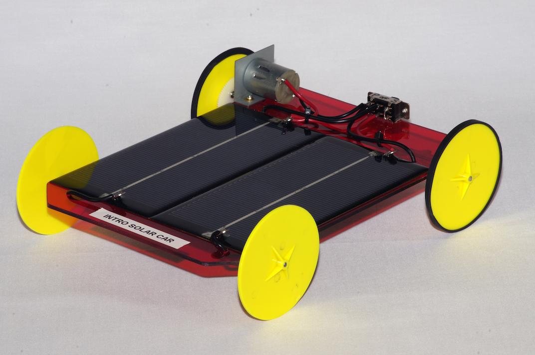 Simple solar car