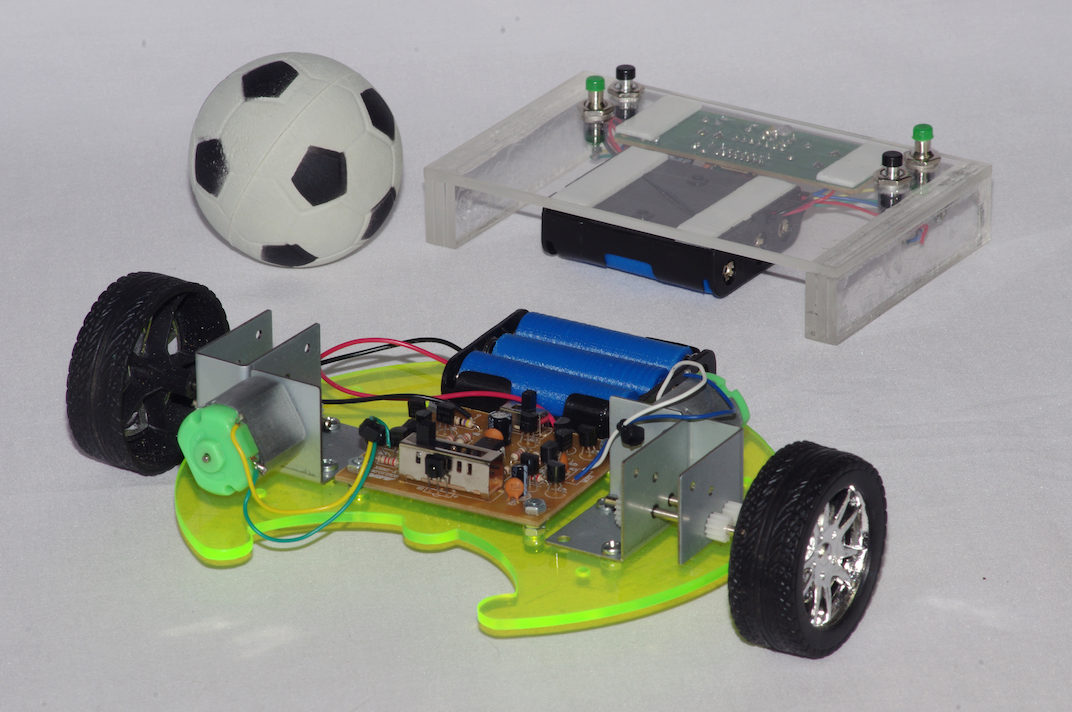 Jouster - Infra red controlled vehicle
