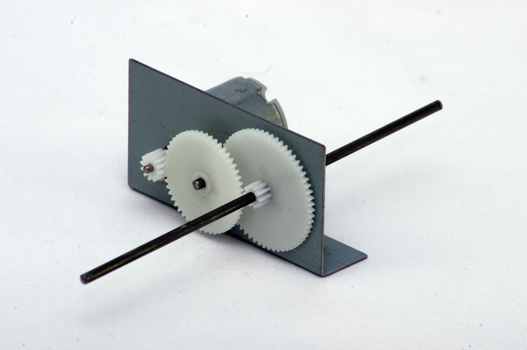Basic gearbox and motor kit