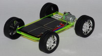 Solar Car Model Version 2