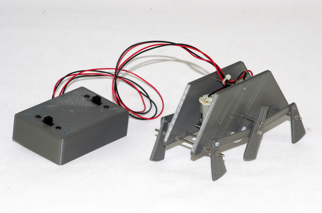 Stomper six legged robotic device