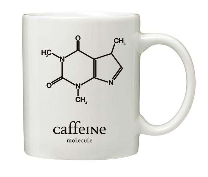 """MUG - """"CAFFEINE"""" - Code: HJ2001Price $10.00"""