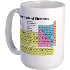 "MUG - ""PERIODIC TABLE OF ELEMENTS"" - Code: HJ2004Price: $10.00"