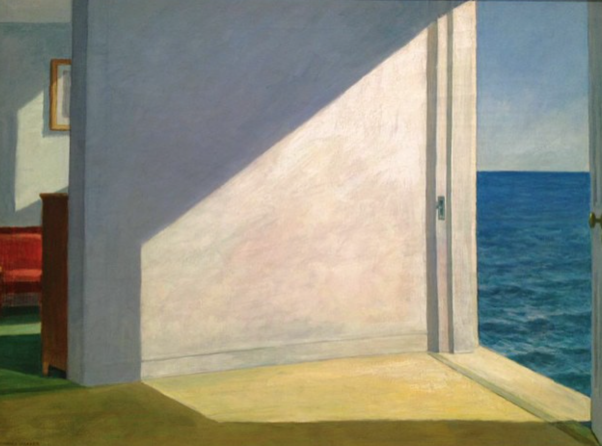 """Rooms by the Sea"" 1951   Edward Hopper"