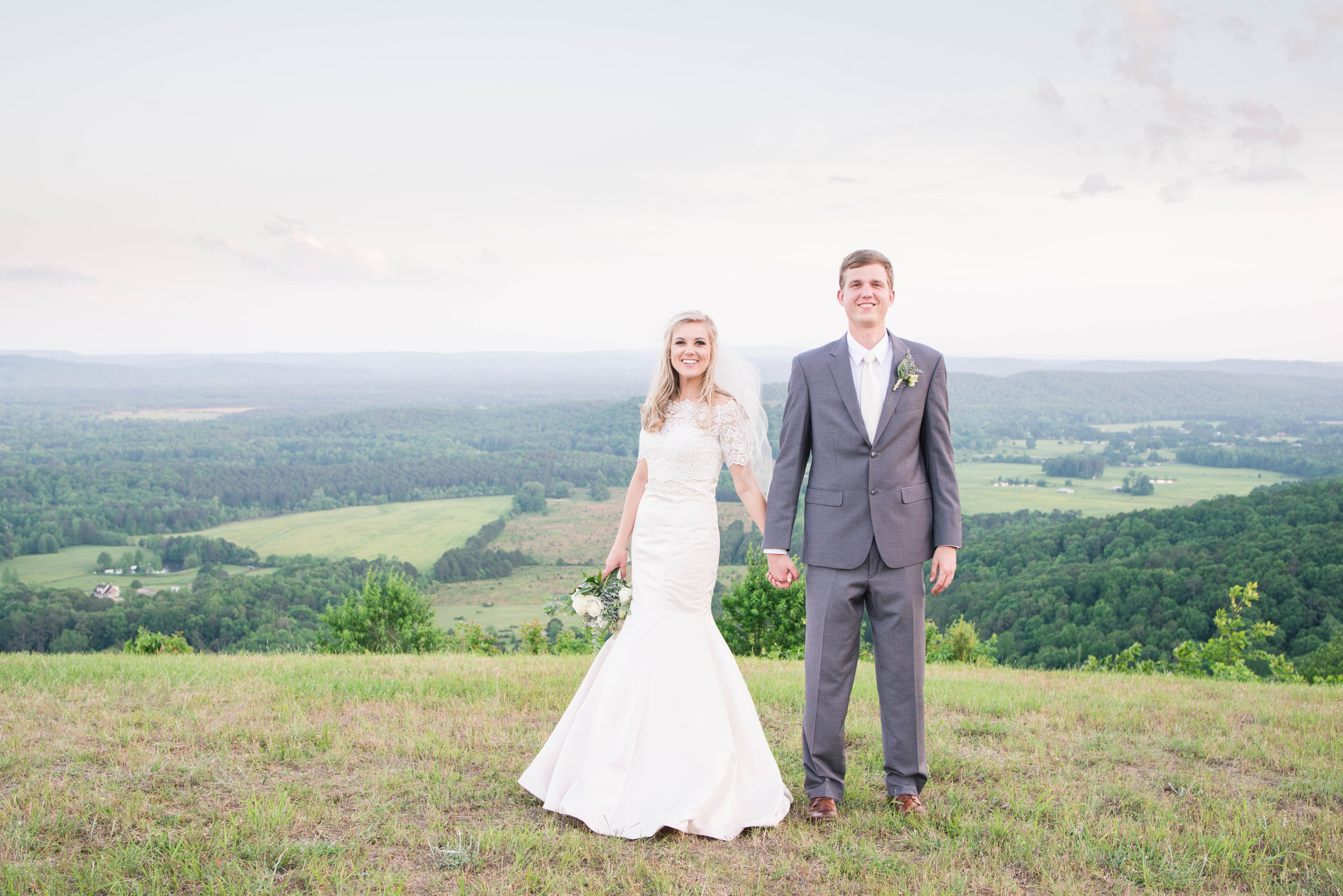 Chandler & Nathan Birmingham Alabama April Wedding