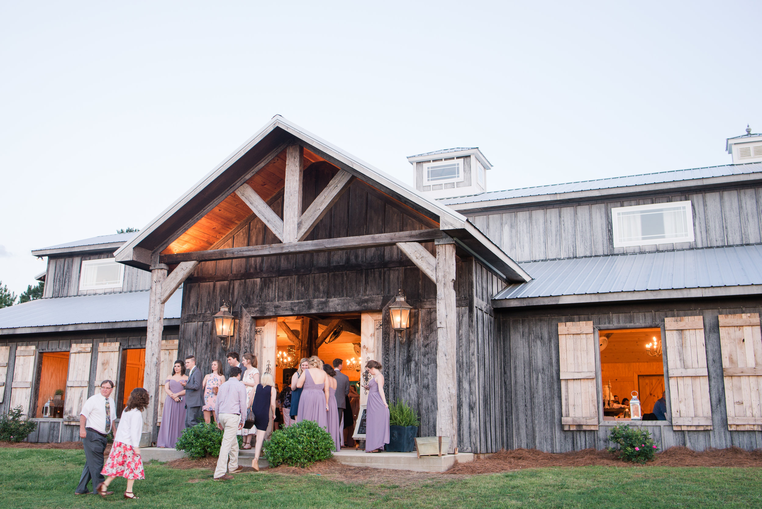 Chandler & Nathan Birmingham Alabama April Wedding Ephesians Farm