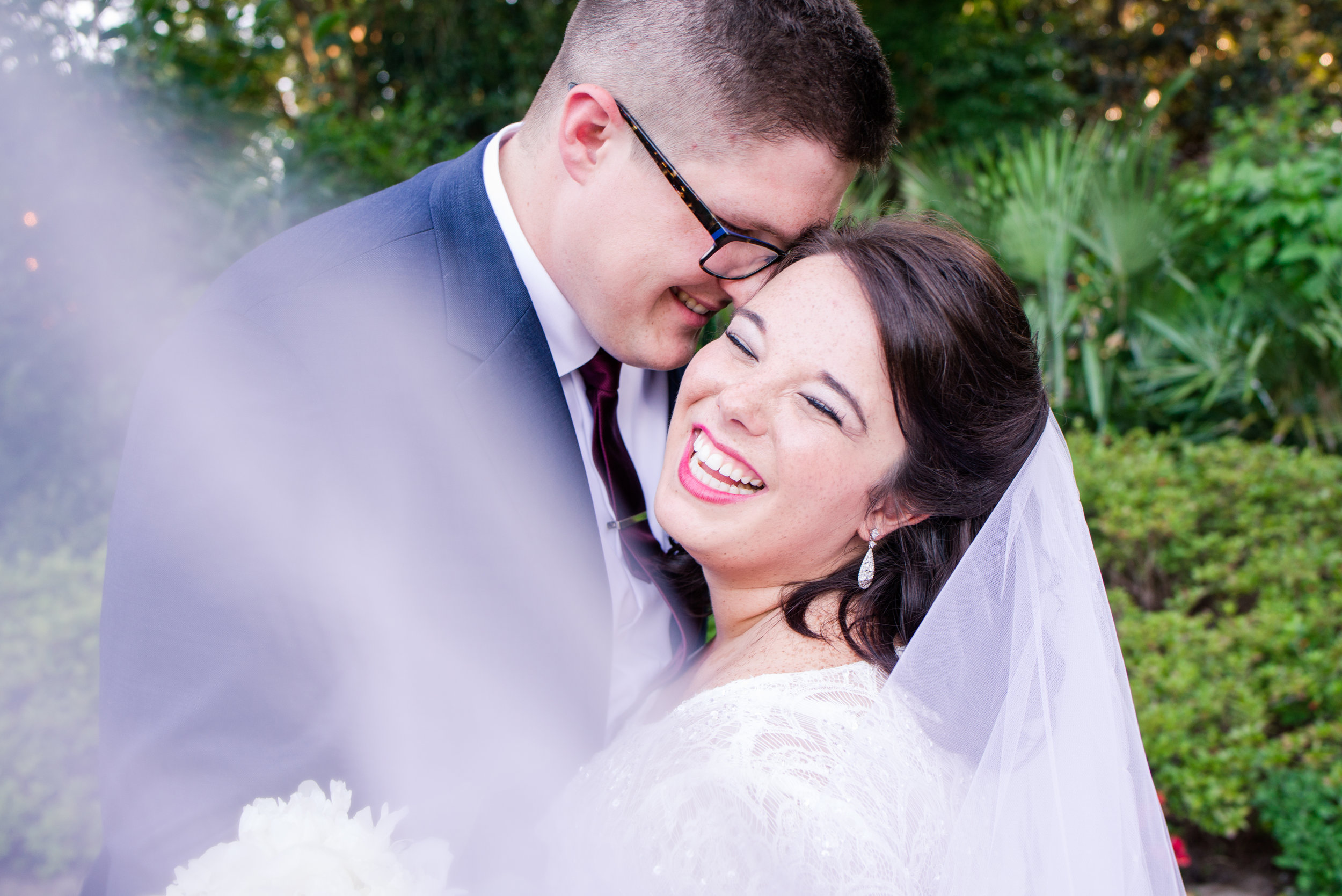 Kayla & Richie Hicks Mobile Botanical Gardens June Wedding Alabama