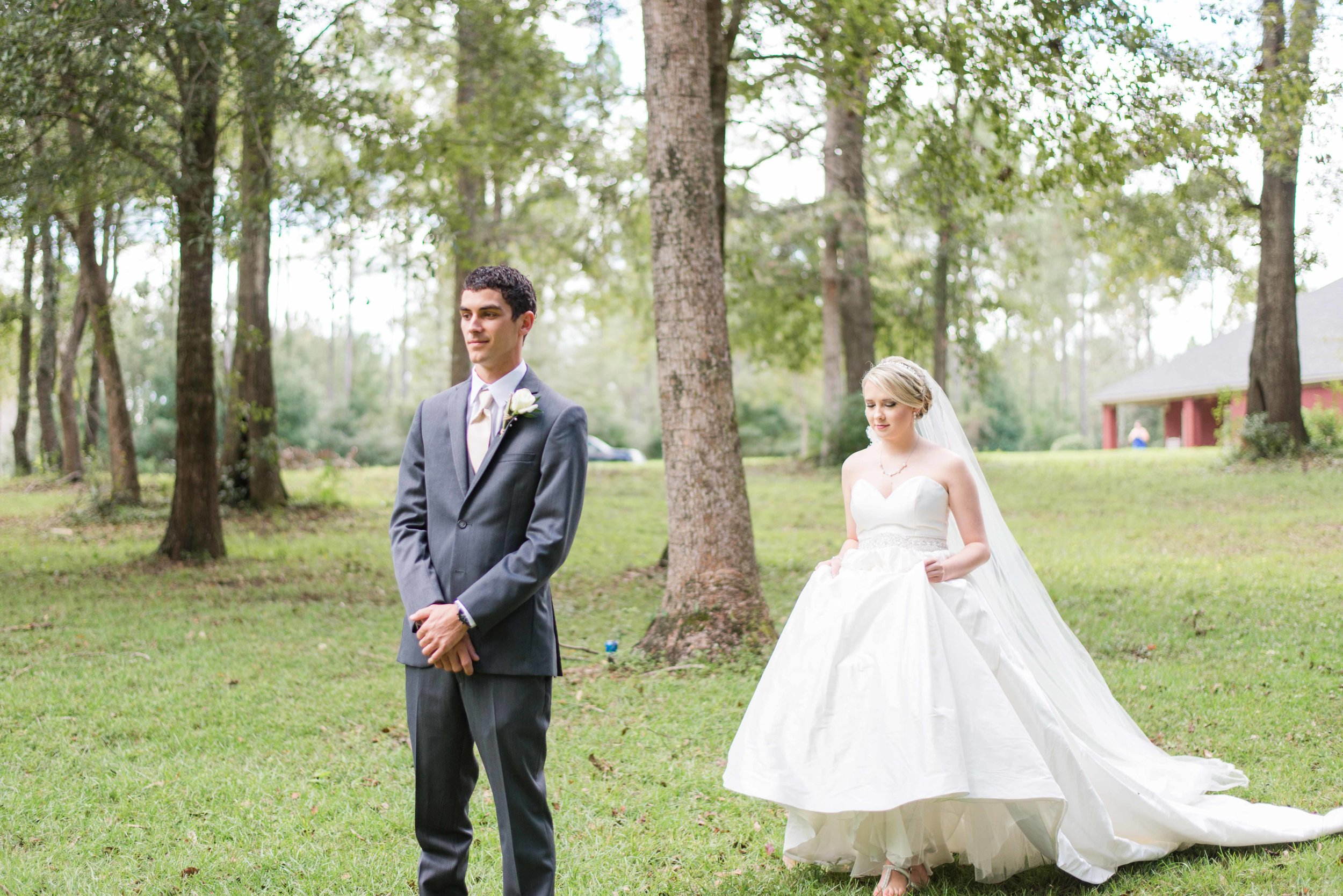 Catherine & Ocean Robertsdale Alabama October Wedding