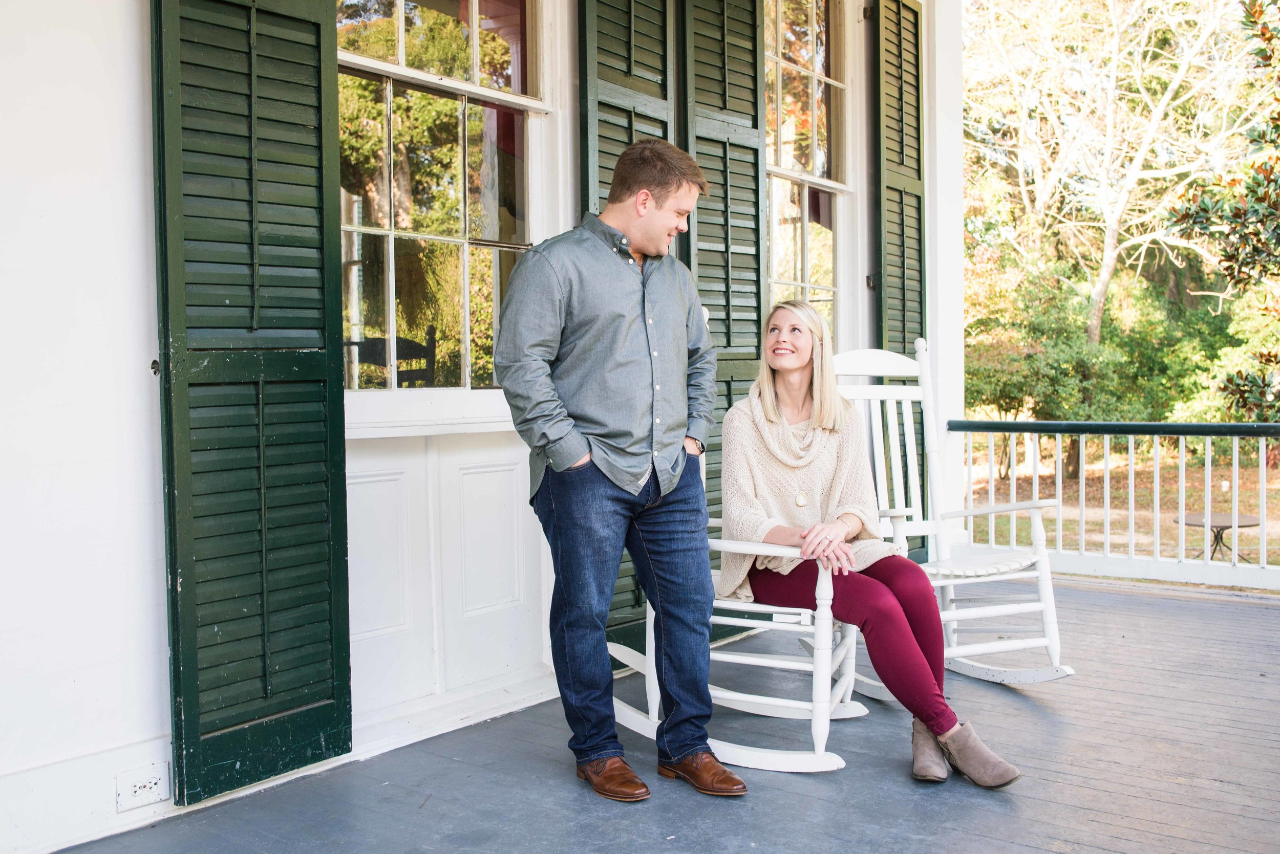 Catharine & Kevin Springhill Mobile Alabama Engagement Session