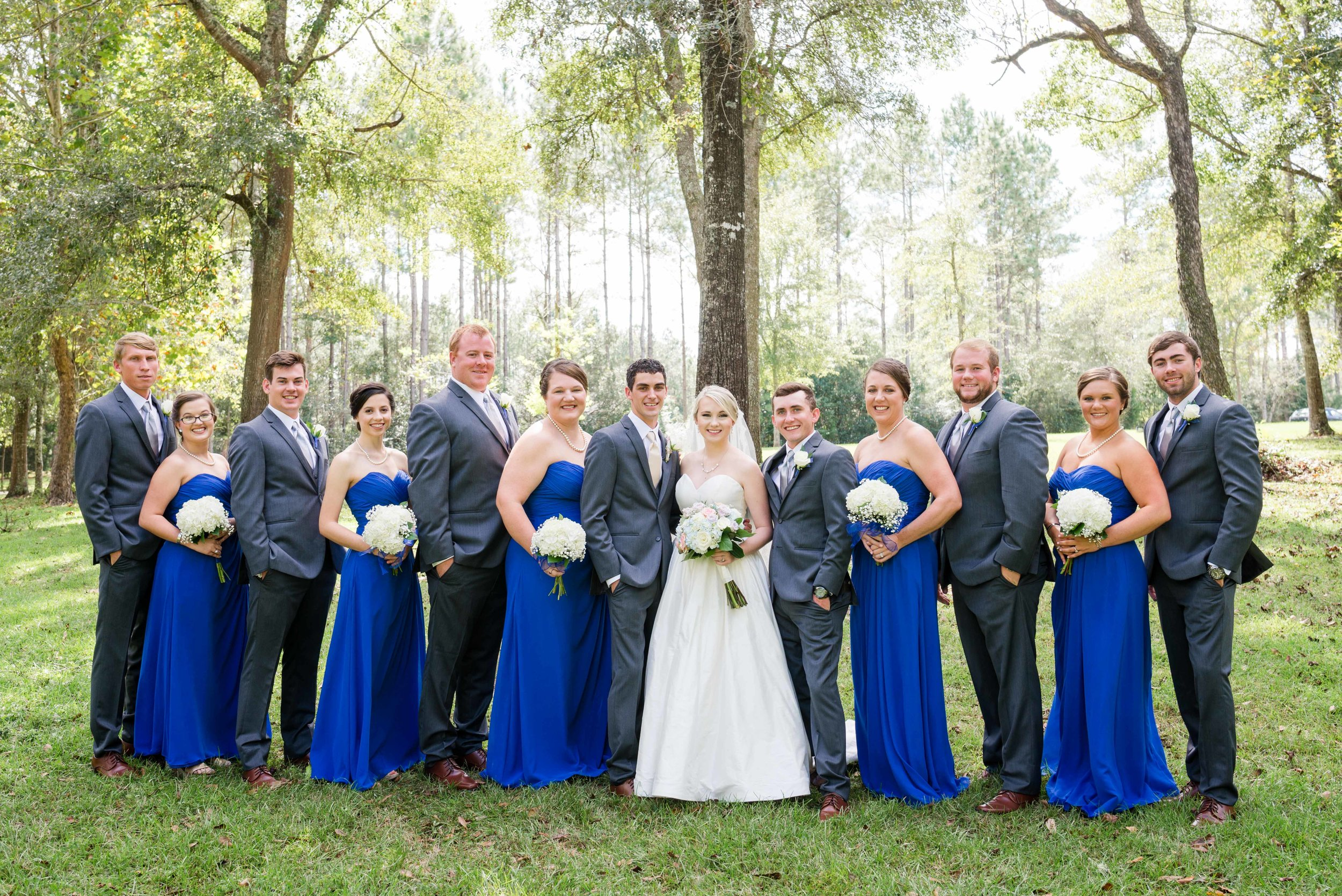 Robertsdale Alabama October Wedding