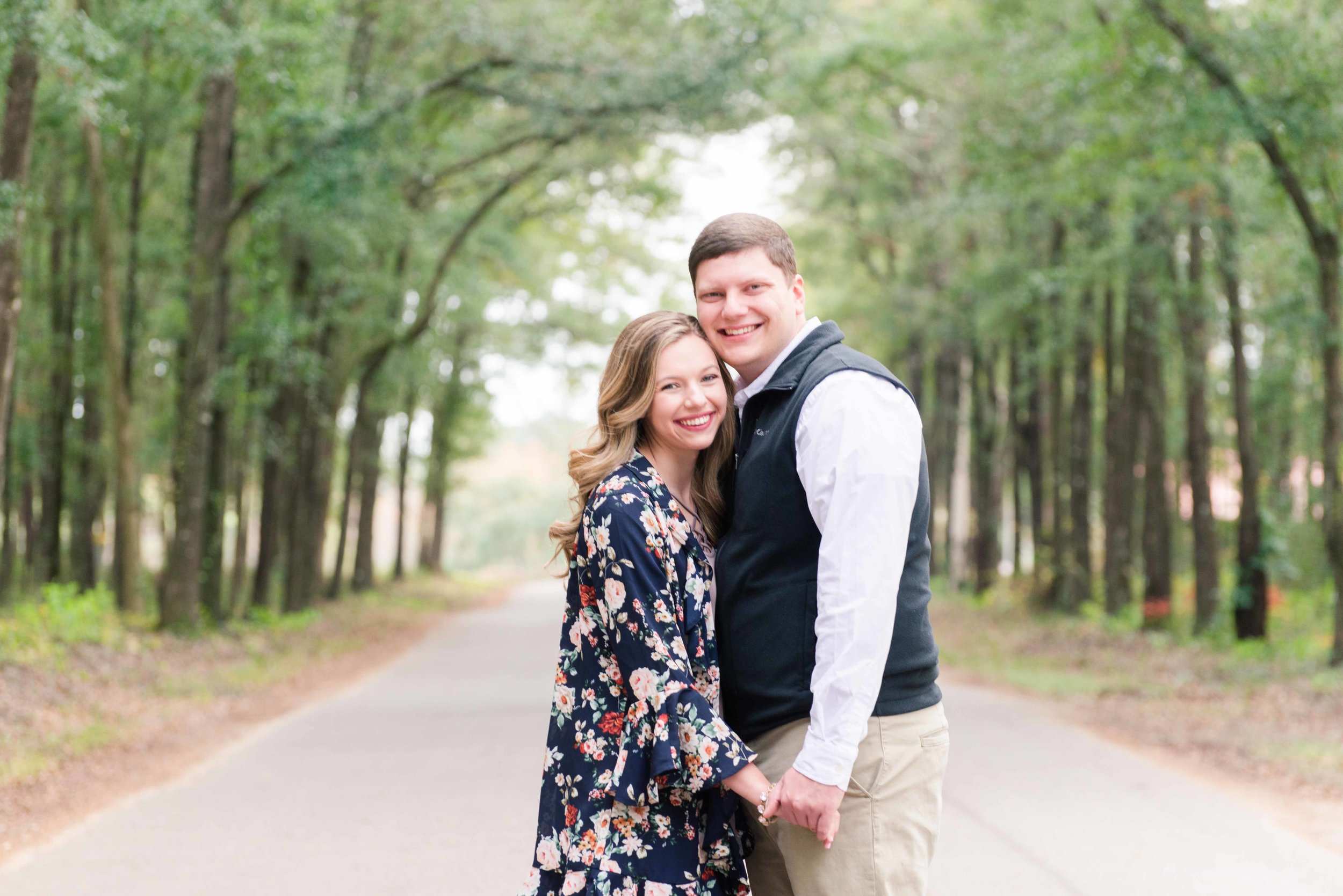 Tori & Trey Mobile Alabama Engagement