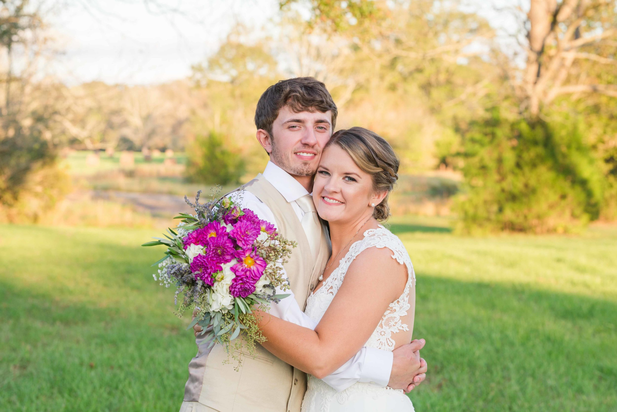 Jordan and Callie The Lake at Oakhill Ethel Lousiana November Wedding