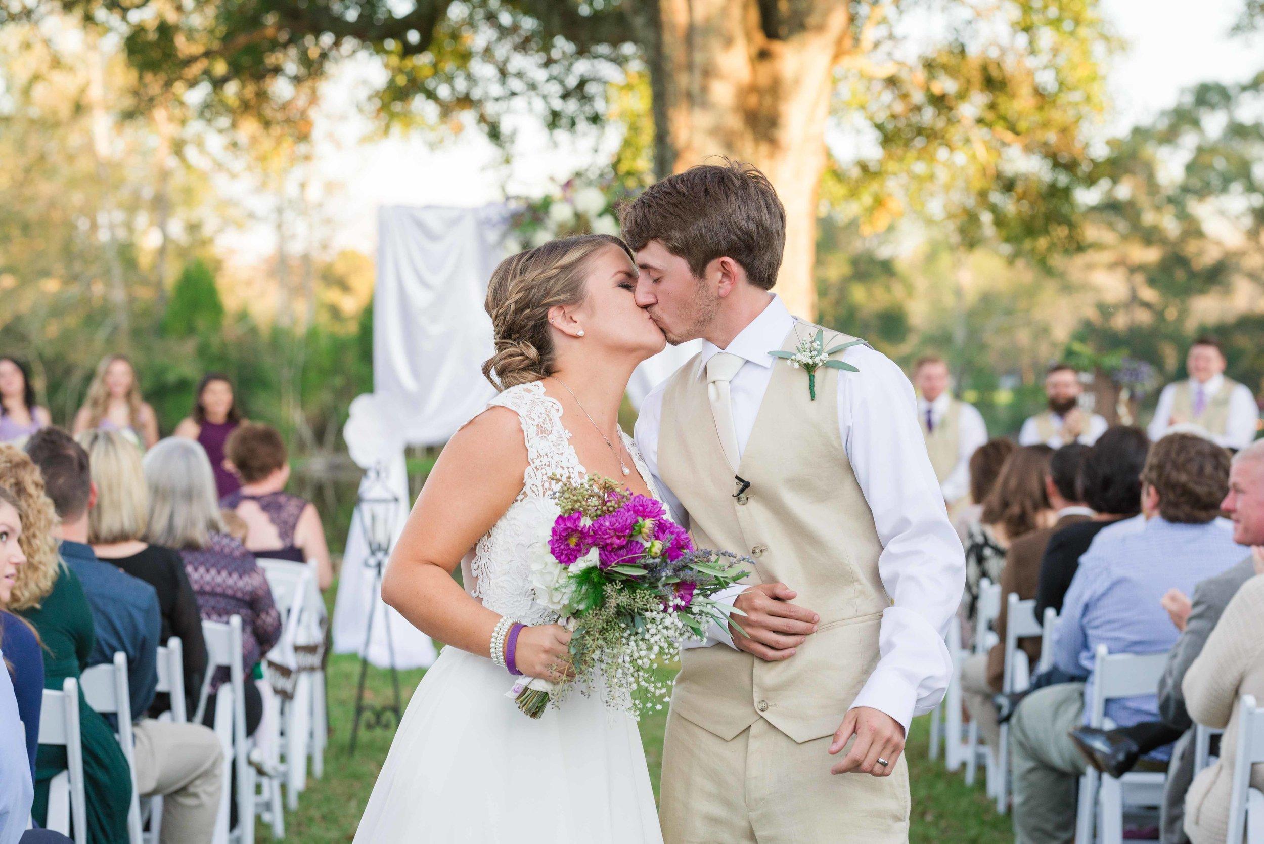 Jordan and Callie The Lake at Oakhill Ethel Lousiana November Wedding