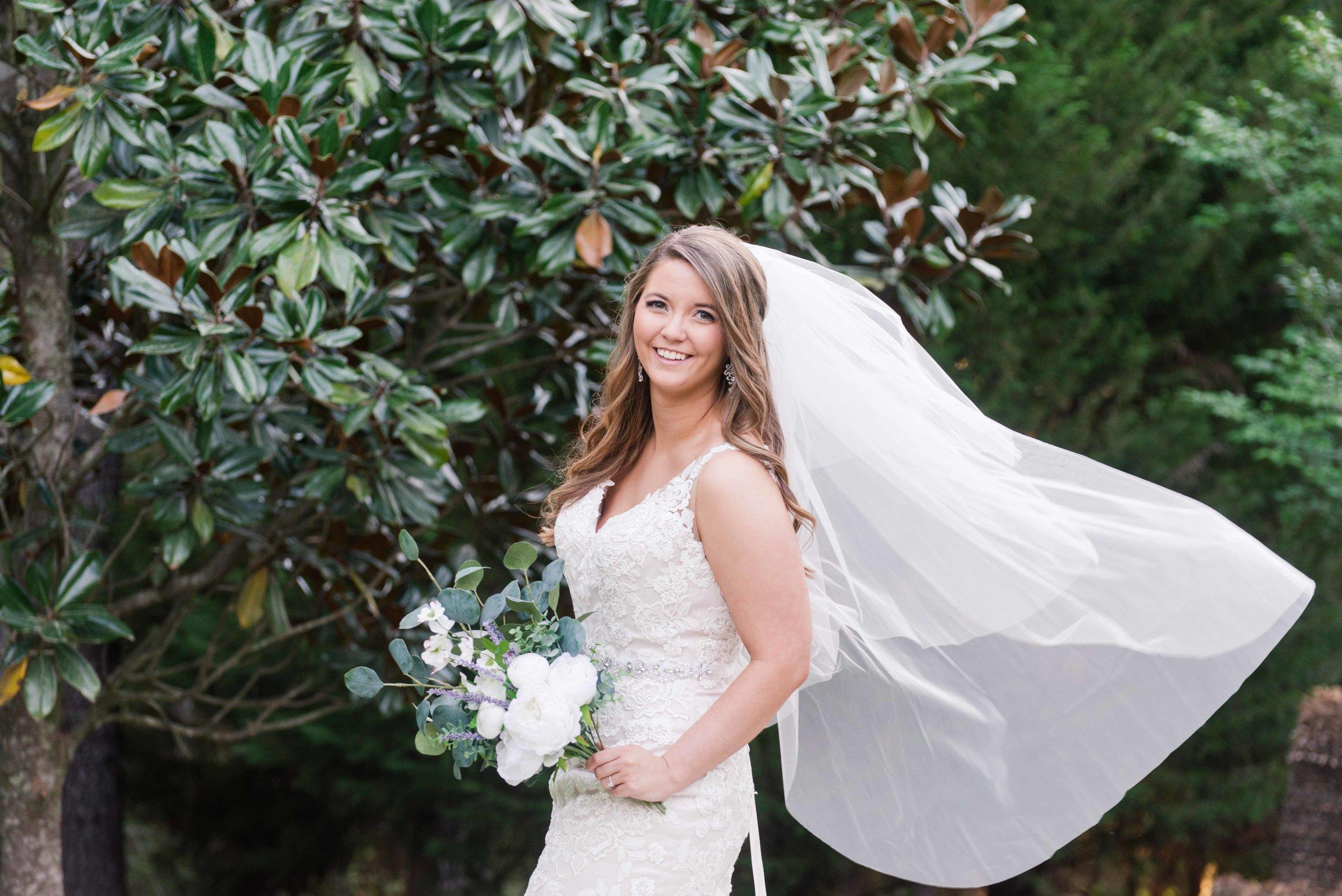 Bella Sera Gardens Bridal Session Gulf Coast Bride Stephanie