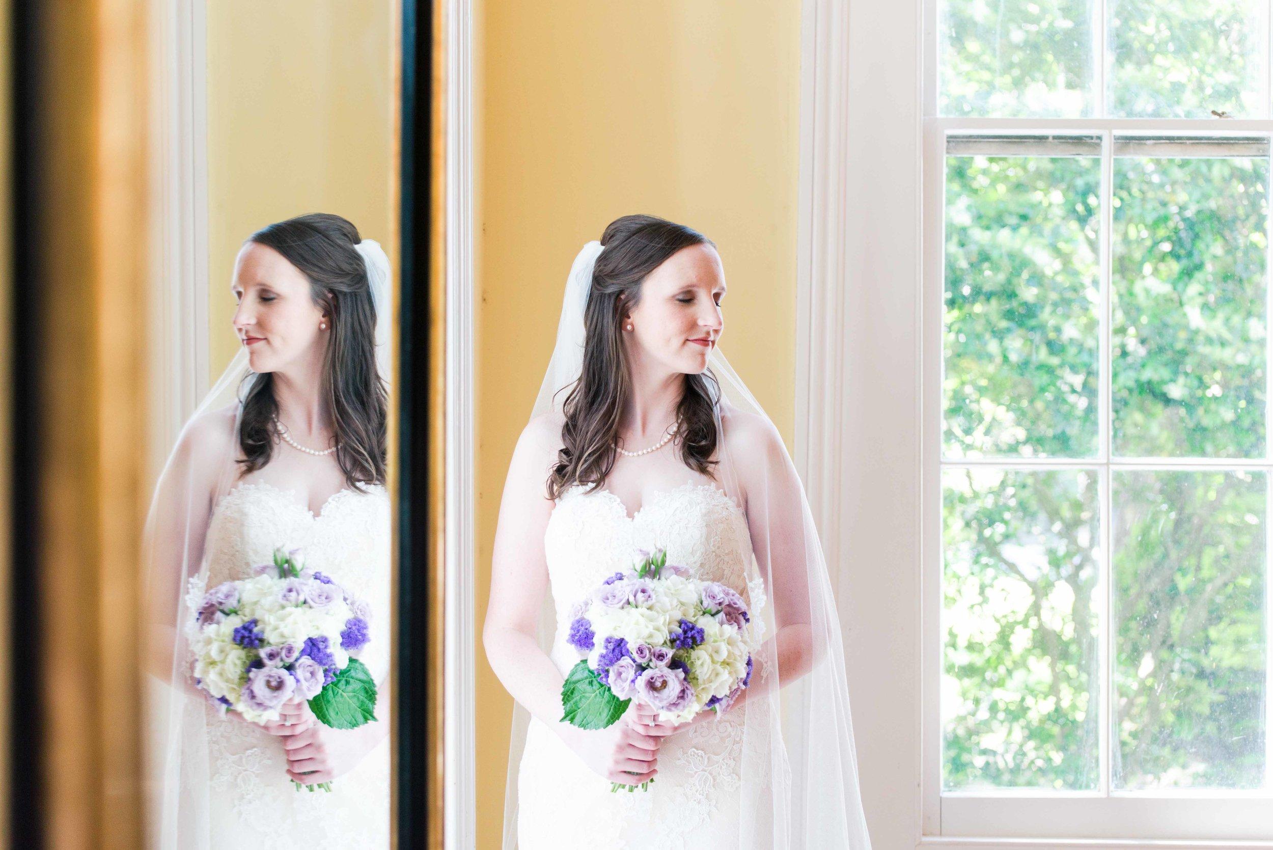 Haley Bridal Portraits Bragg-Mitchell Mansion Mobile Alabama