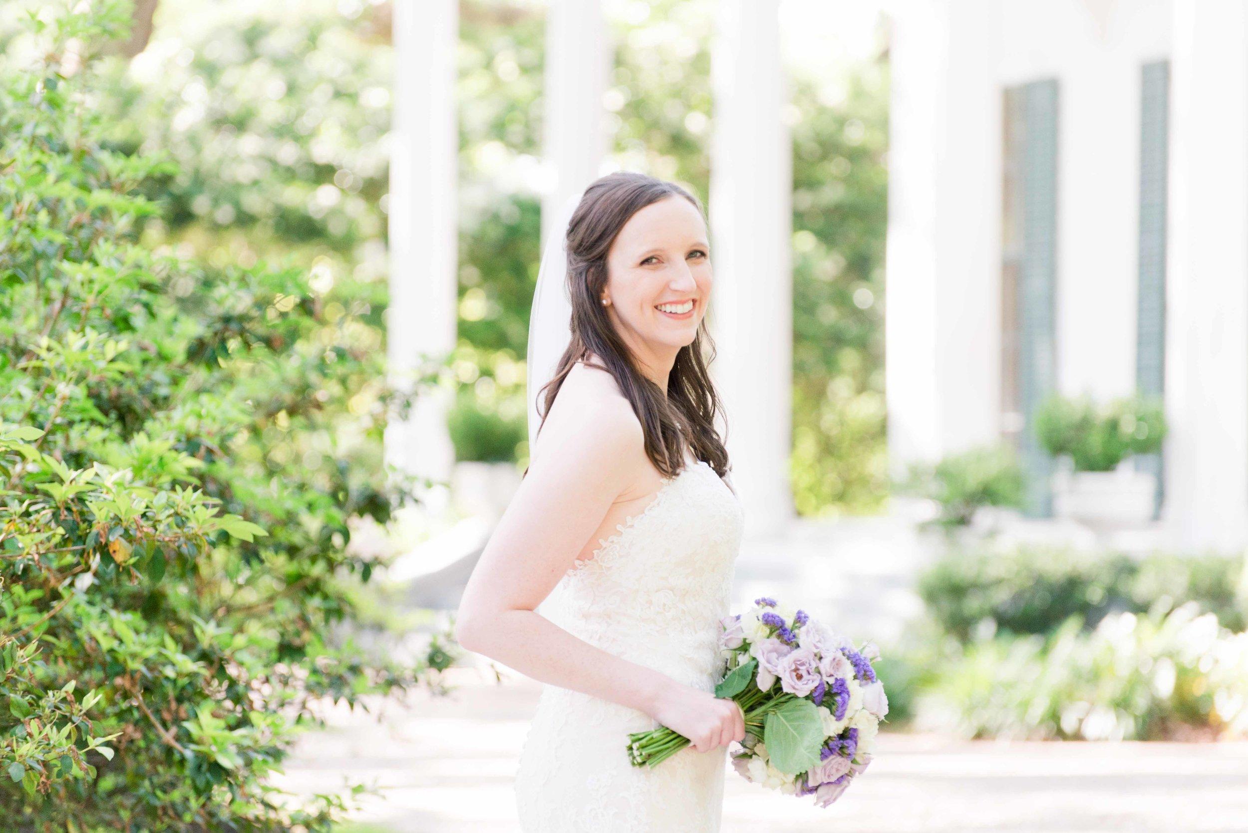 Haley Bridal Portraits Mobile Alabama Bragg-Mitchell Mansion