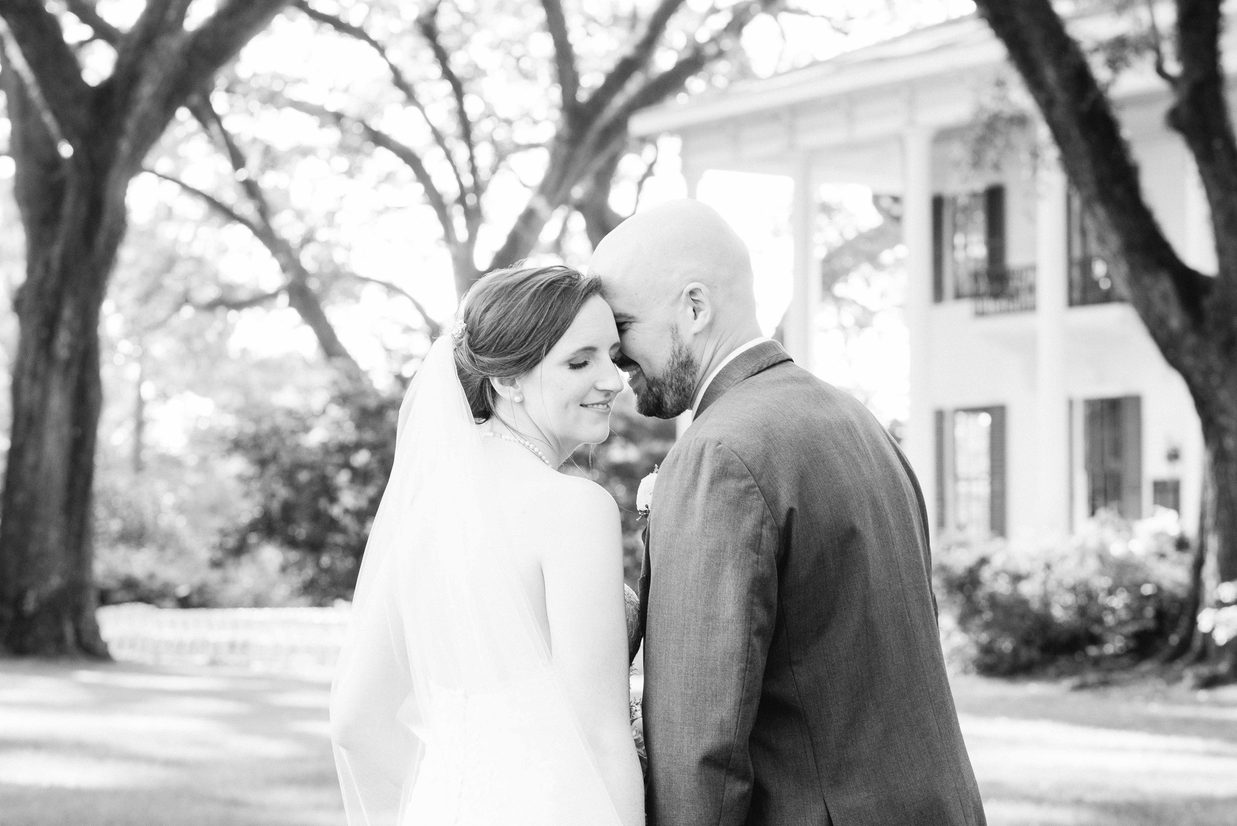 Bragg-Mitchell Mansion Mobile Alabama Wedding Haley & Howard Deborah Michelle Photography