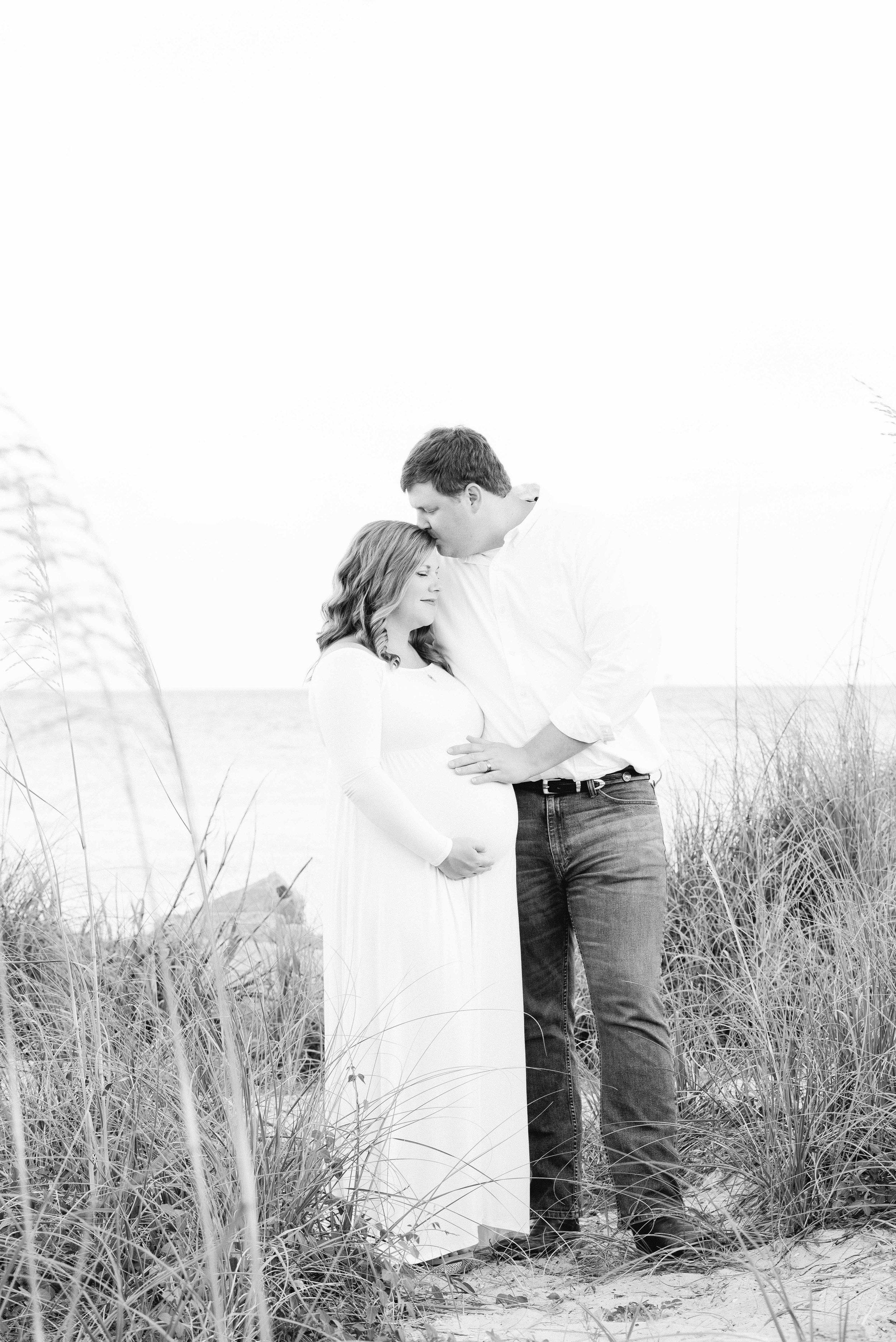 Tracy & Jonathan Maternity Session Dauphin Island Alabama
