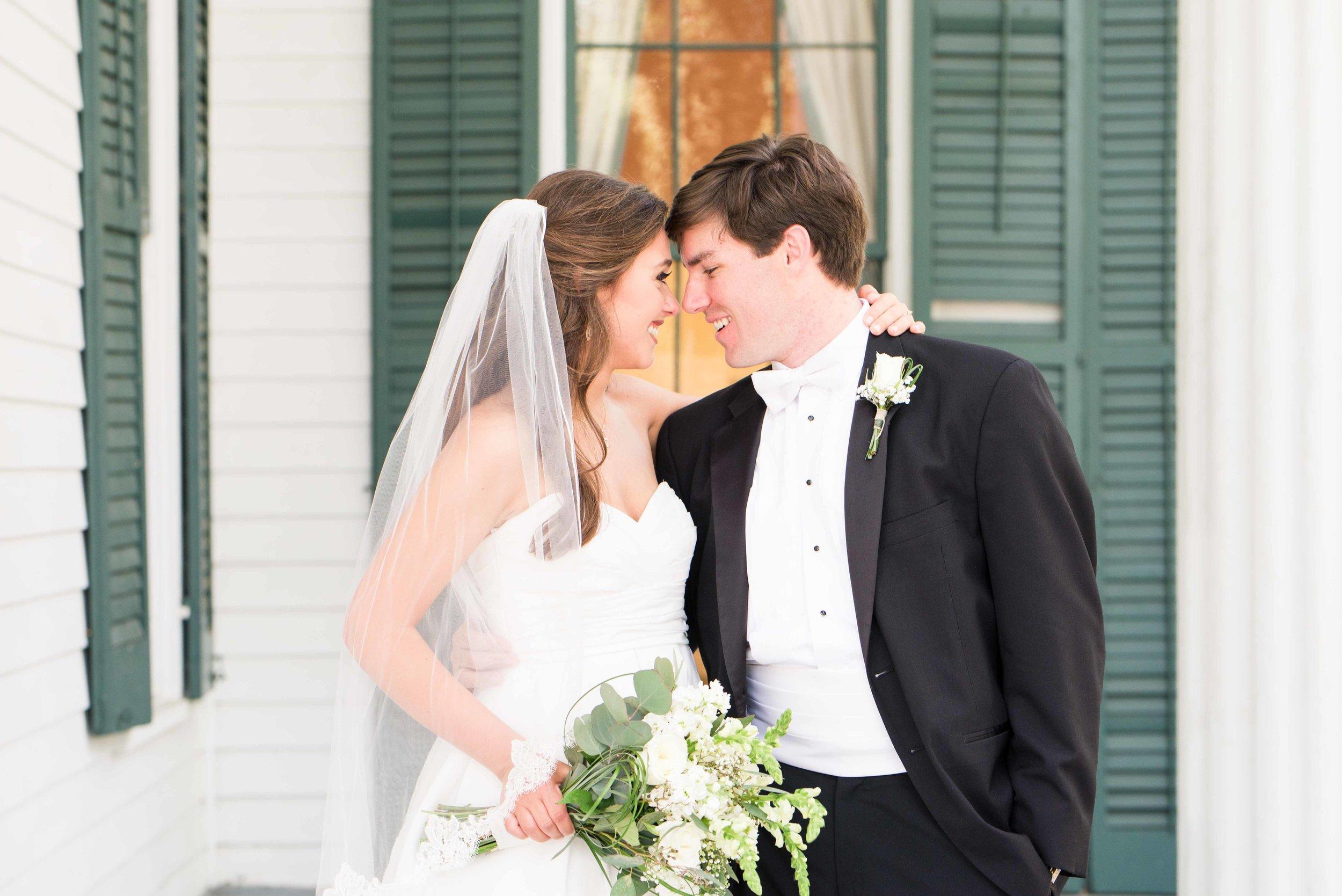 Christy & Tyler Bragg Mitchell Mansion Mobile Alabama Spring Wedding