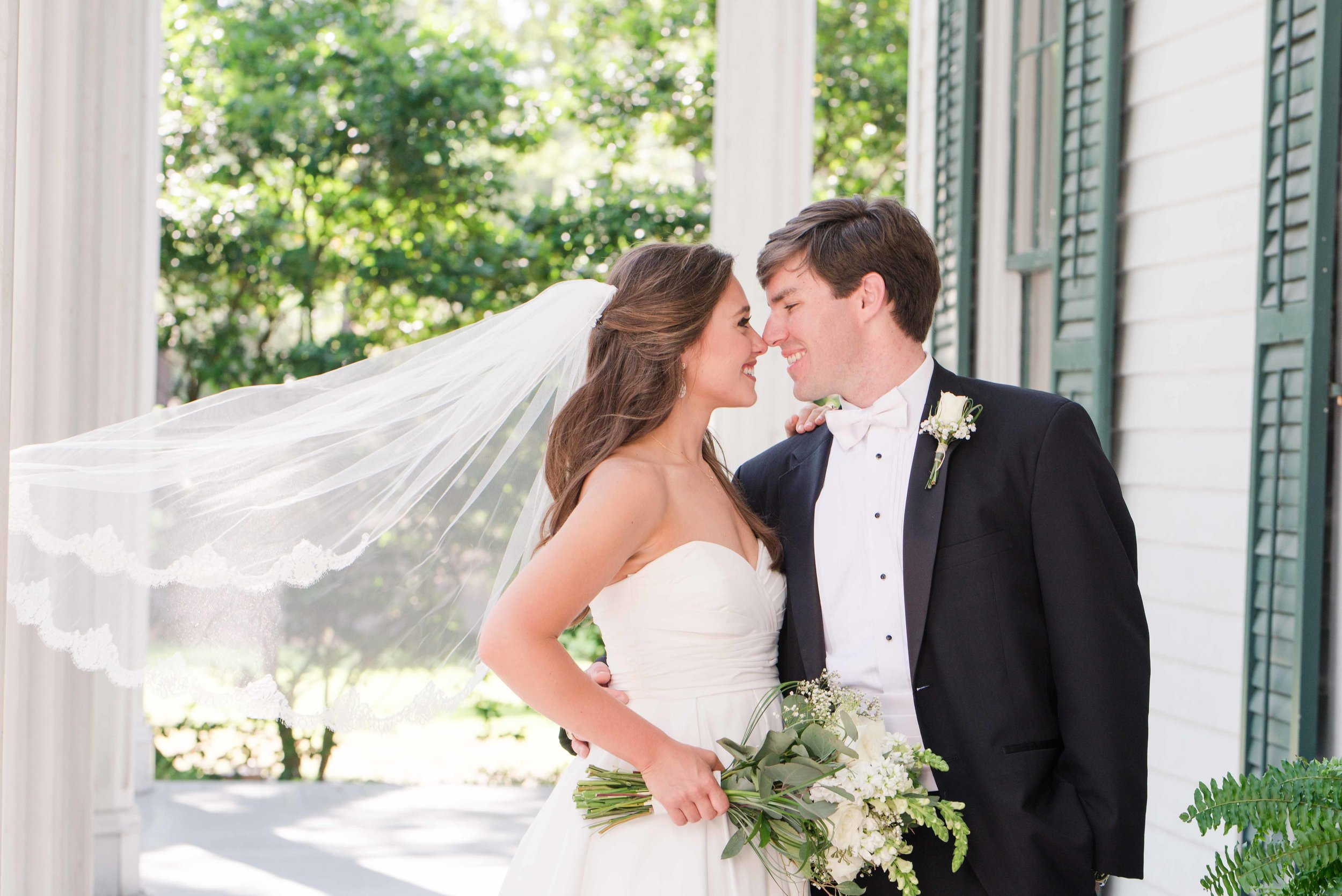 Bragg-Mitchell Mansion Mobile Alabama Wedding Deborah Michelle Photography