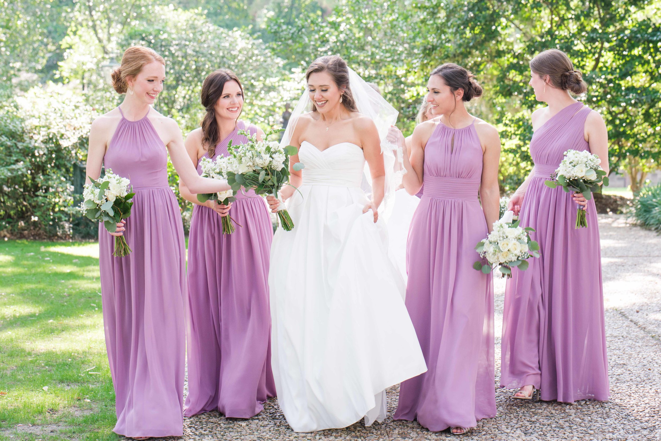 Bragg-Mitchell Mansion Mobile Alabama Wedding Bridesmaids Deborah Michelle Photography
