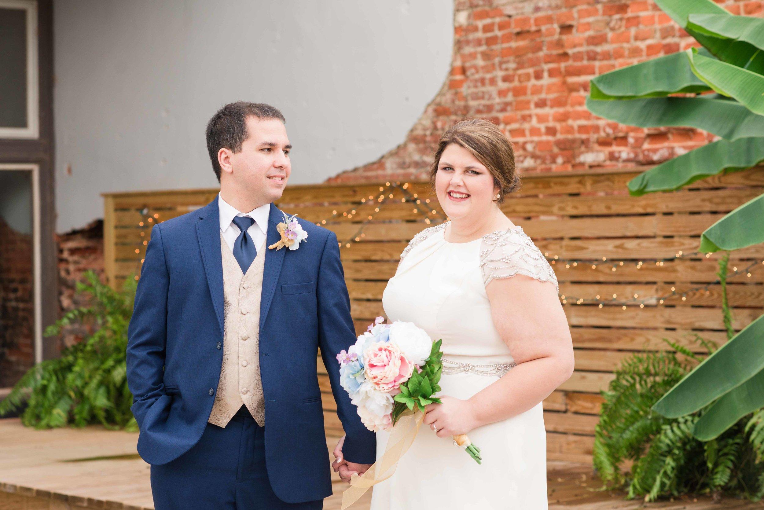 Katie and Brandon Greensboro Alabama Wedding Deborah Michelle Photography