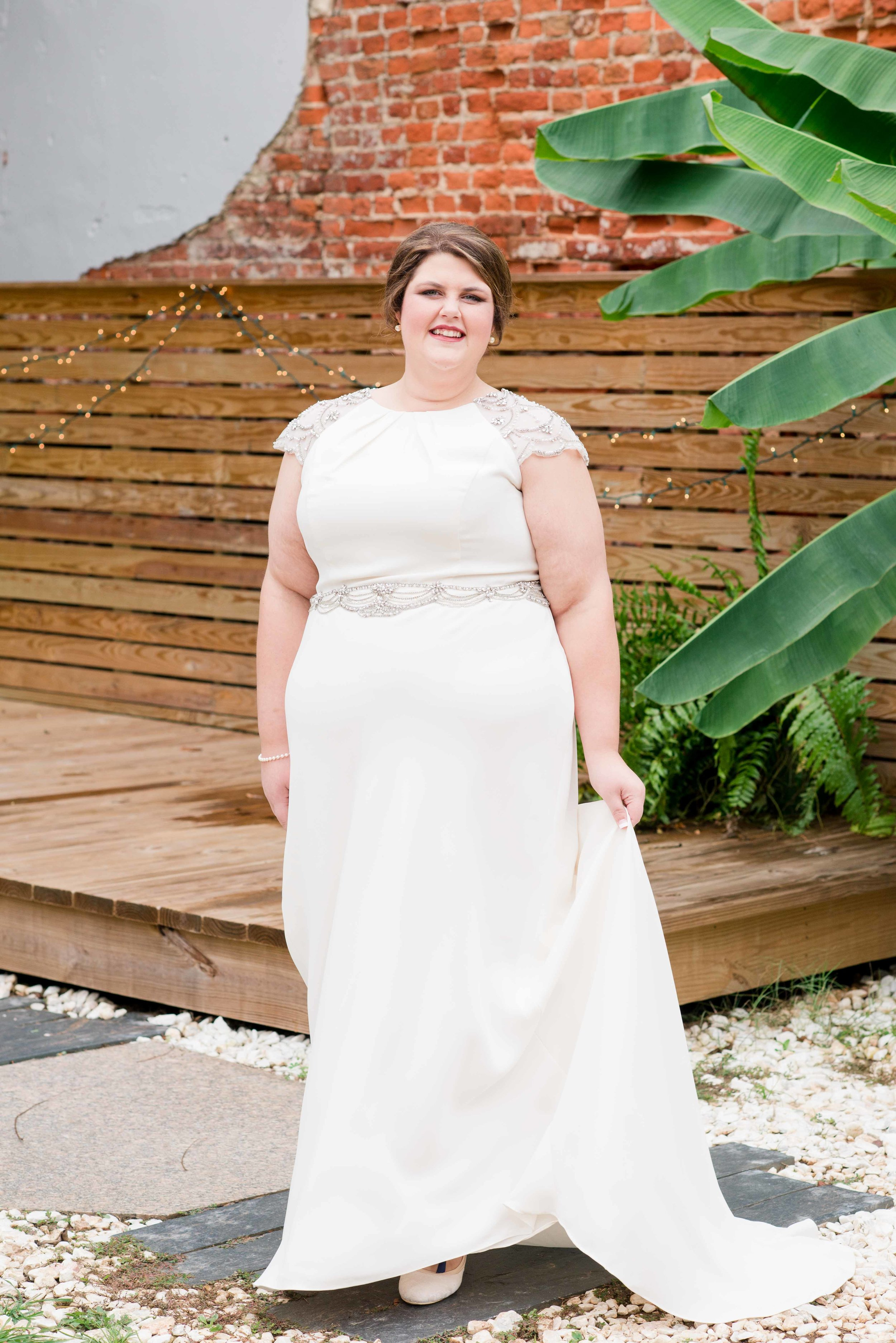 Katie Greensboro Alabama Wedding Deborah Michelle Photography