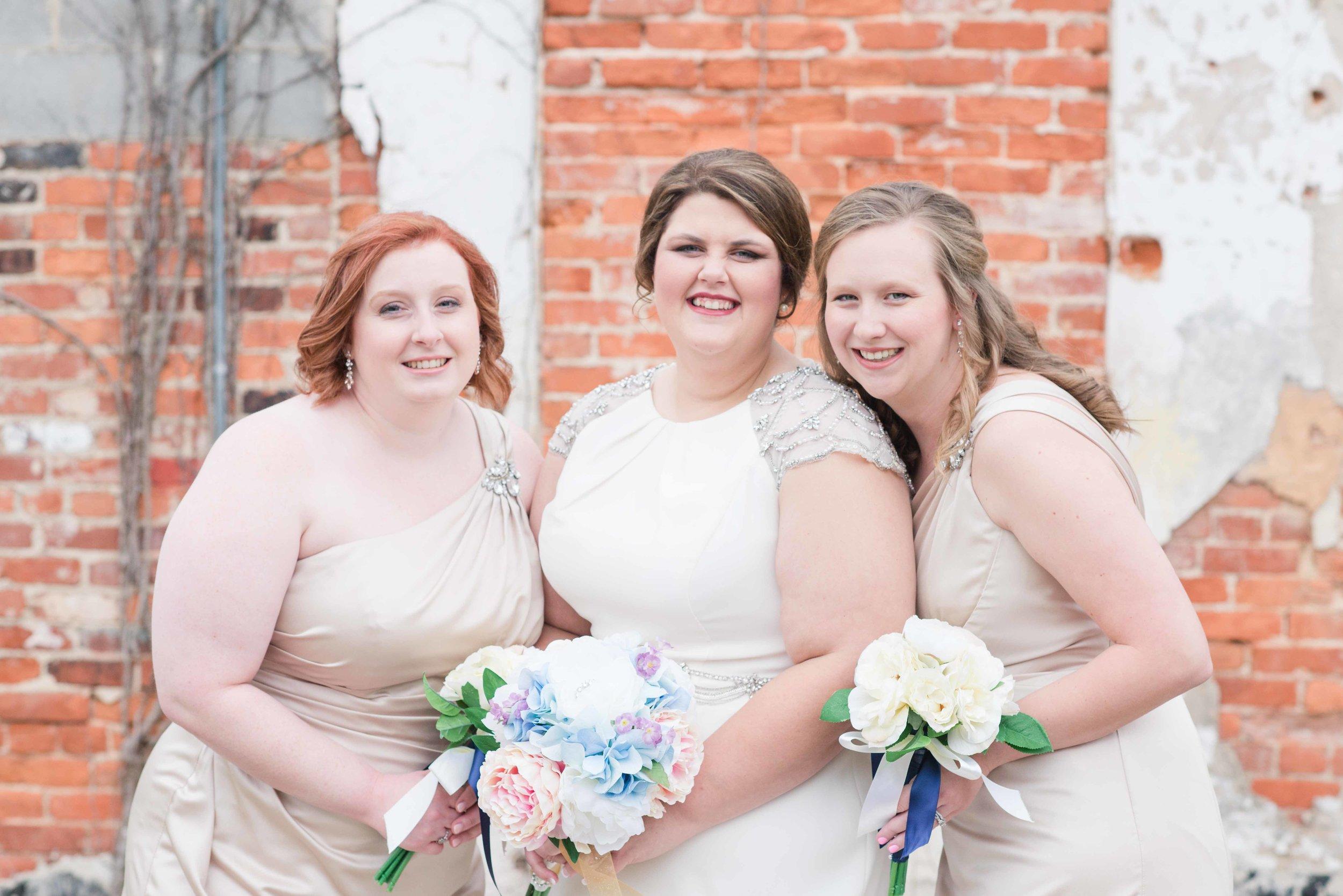 Bridesmaids Greensboro Alabama Wedding Deborah Michelle Photography