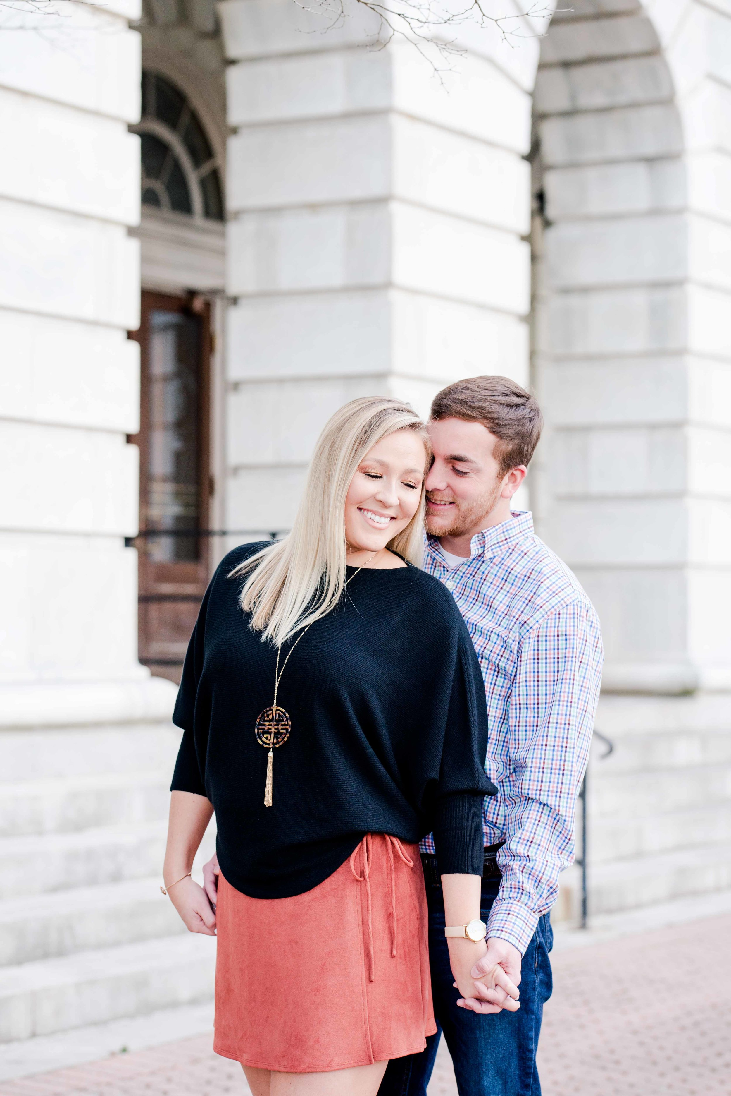 Deborah Michelle Photography Tuscaloosa Alabama Engagement Session Anna and Adam