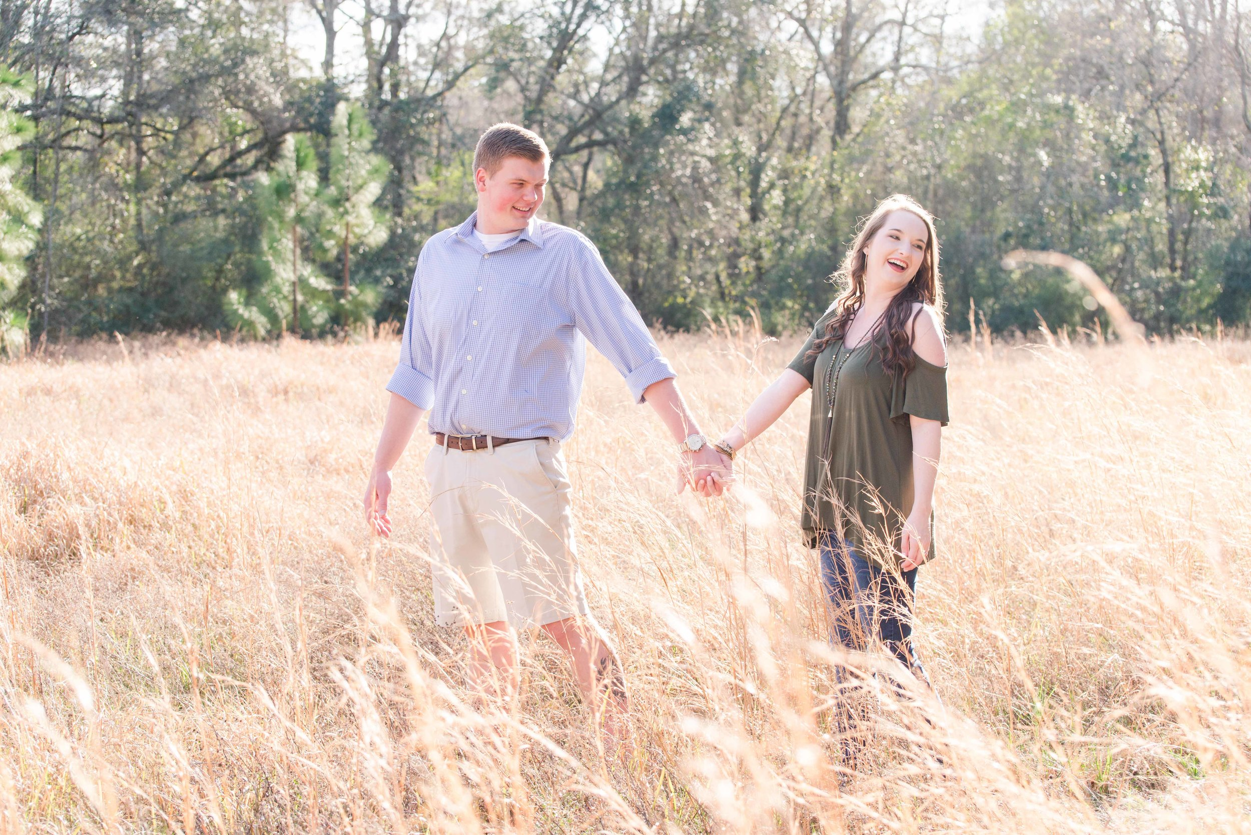 Kaileigh & Blake Engagement Session Hermitage Rippy Estate Deborah Michelle Photography