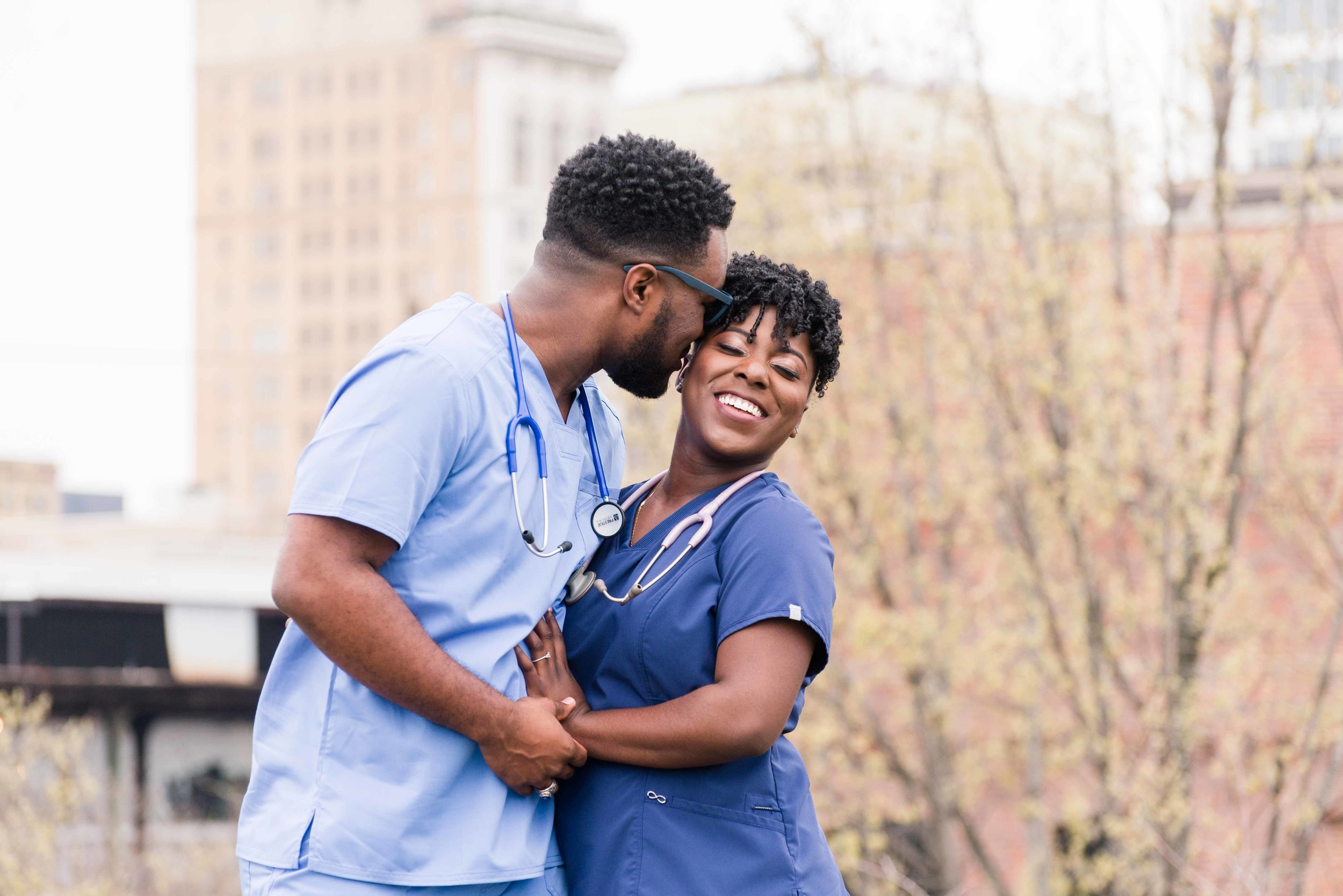 Deborah Michelle Photography Railroad Park Birmingham Alabama Engagement Session