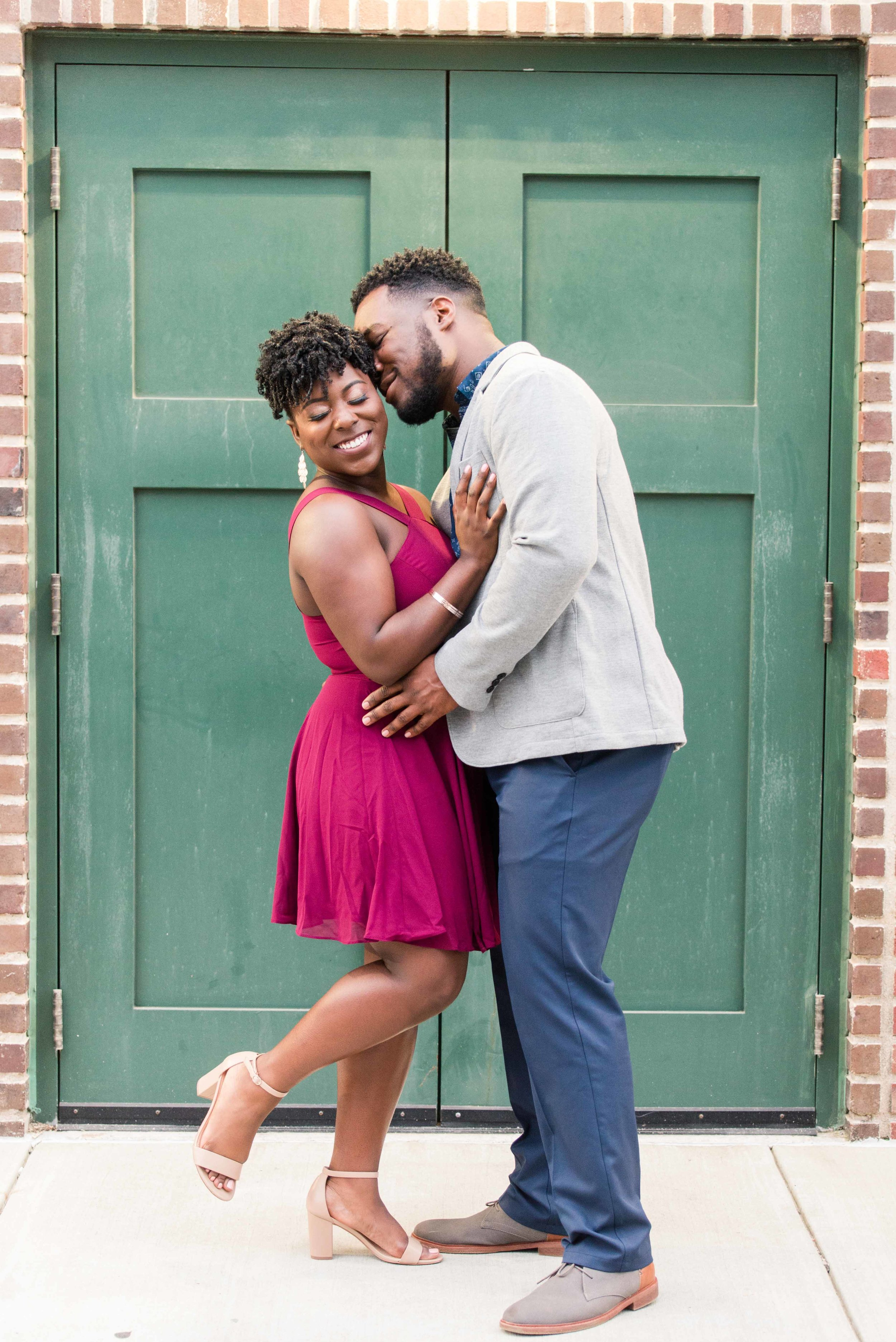 Deborah Michelle Photography Downtown Birmingham Alabama Engagement Session