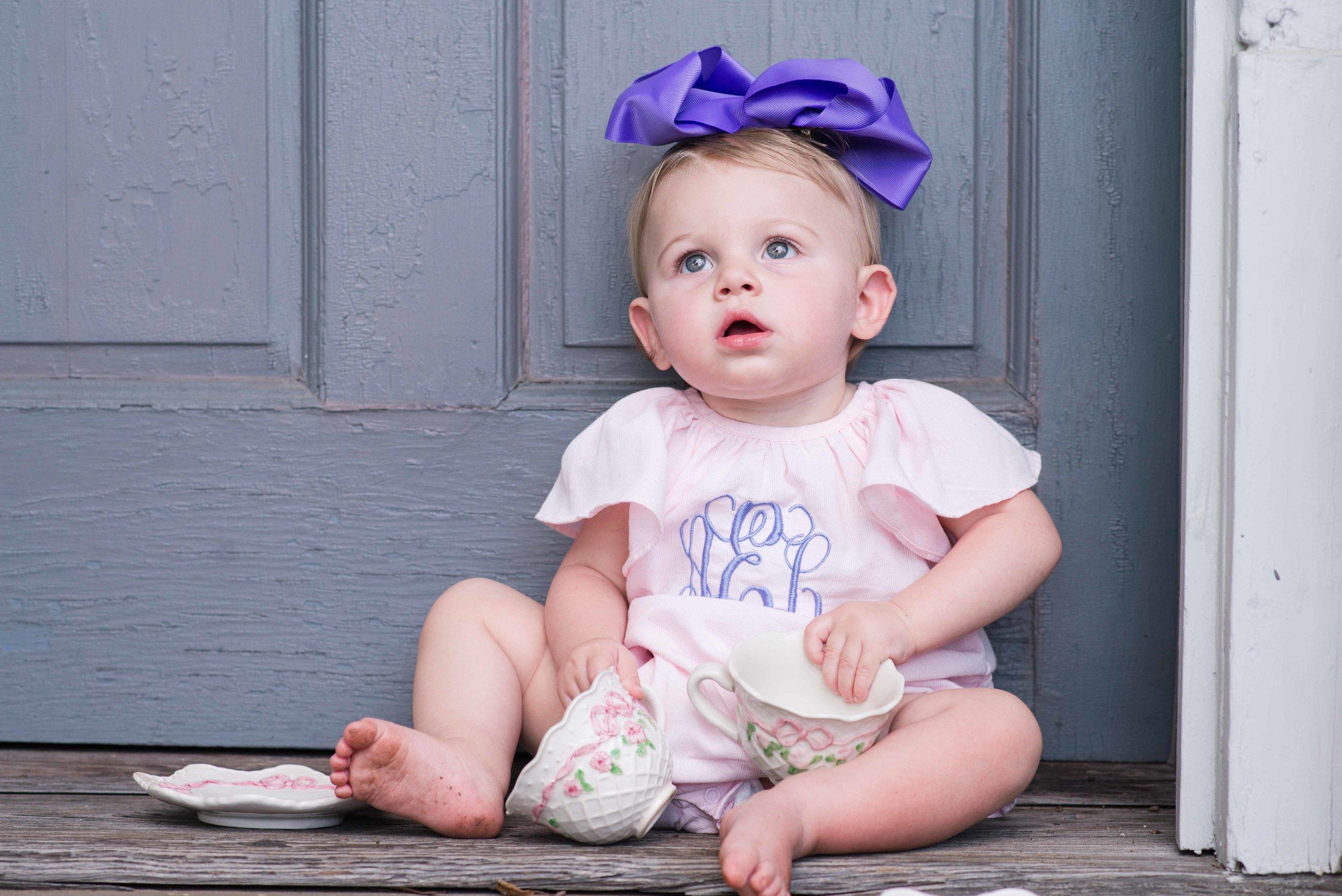 Addison First Birthday Tuscaloosa Alabama Family Photographer Capital Park