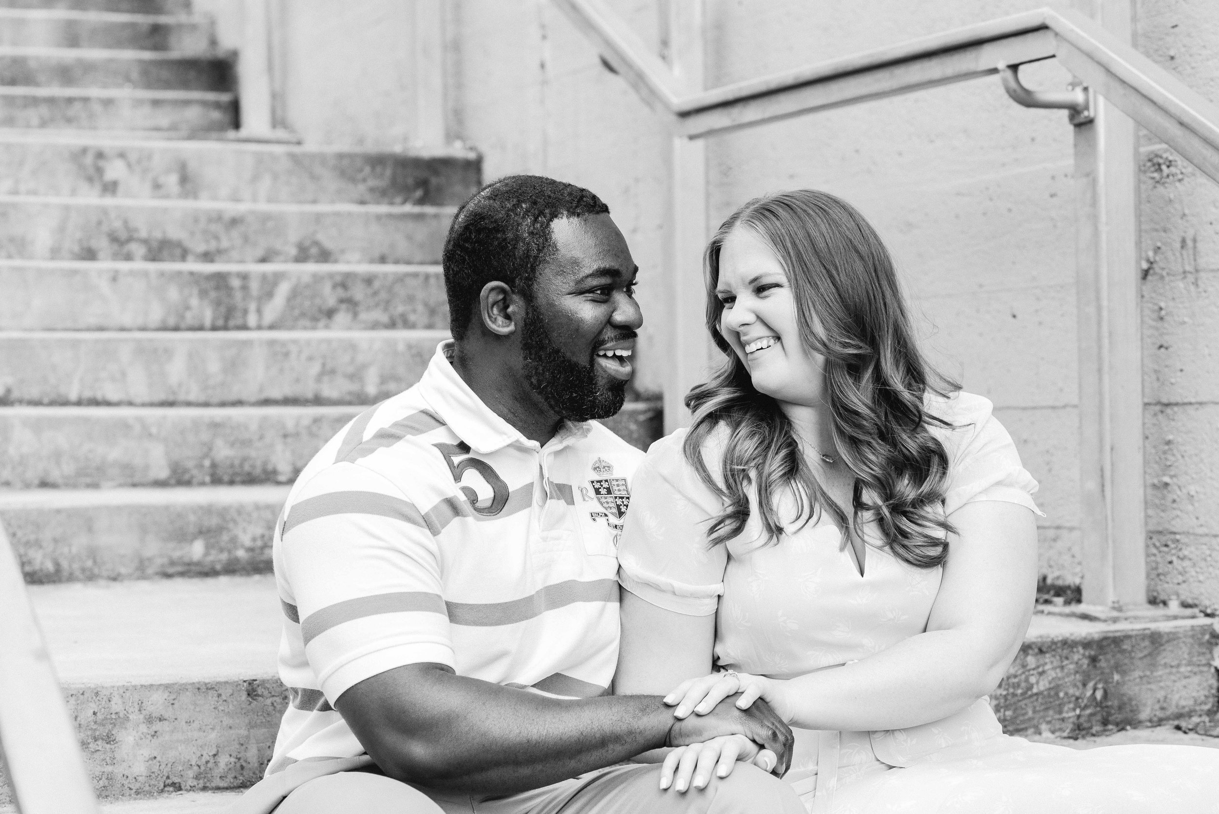 Downtown Birmingham Engagement Session Deborah Michelle Photography
