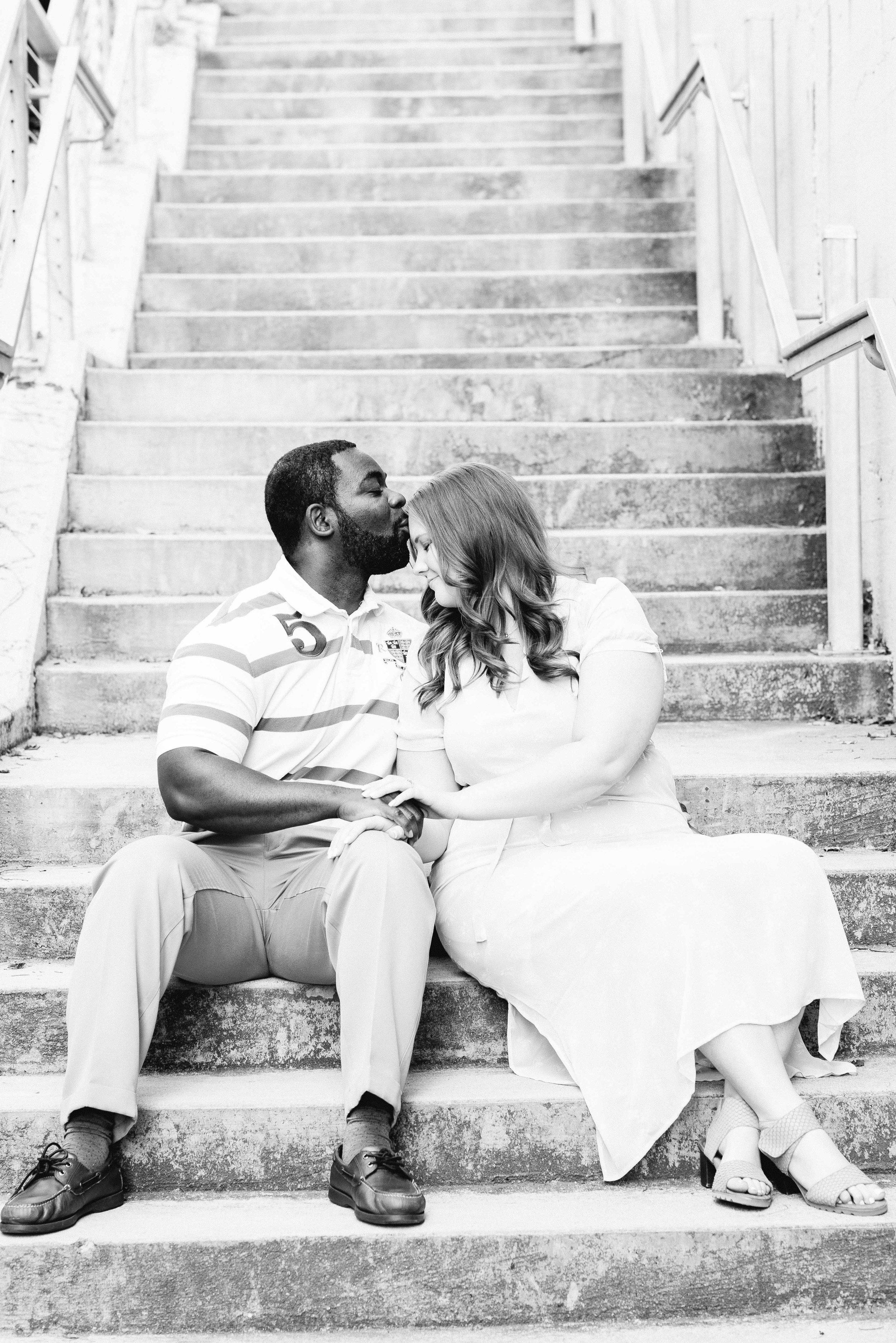 Rotary Trail Downtown Birmingham Engagement Session Deborah Michelle Photography