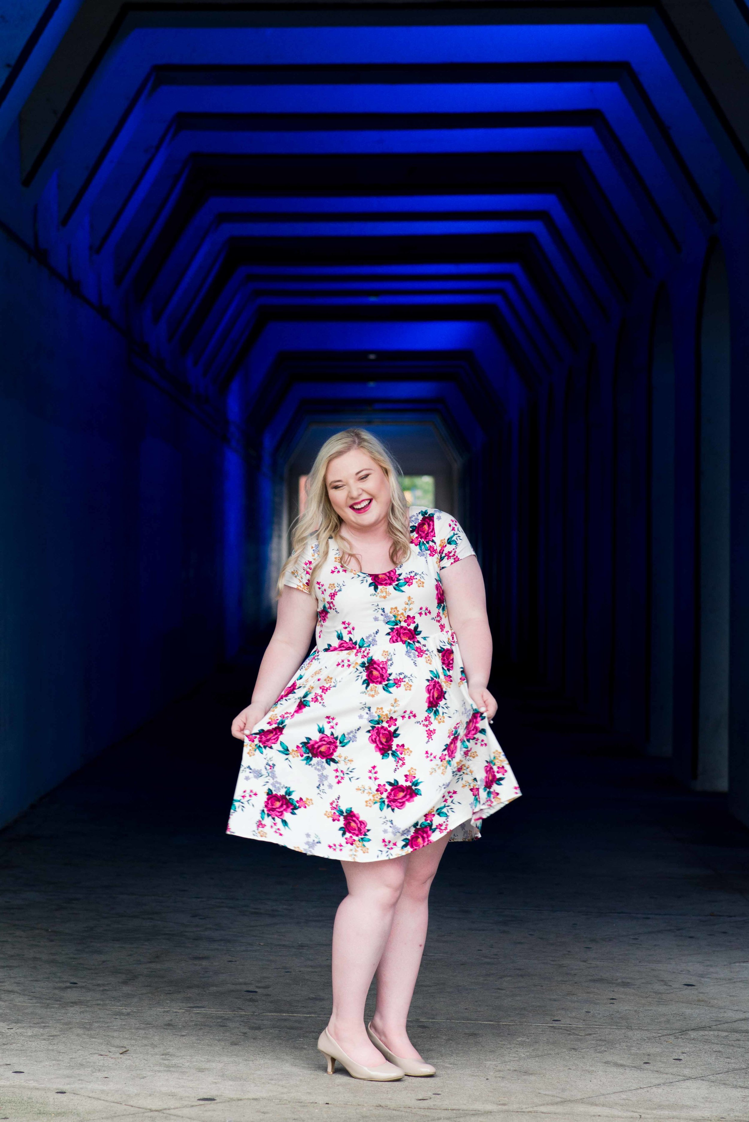 Deborah Michelle Photography Magic City Photographer Birmingham Alabama Senior Portraits Color Tunnel