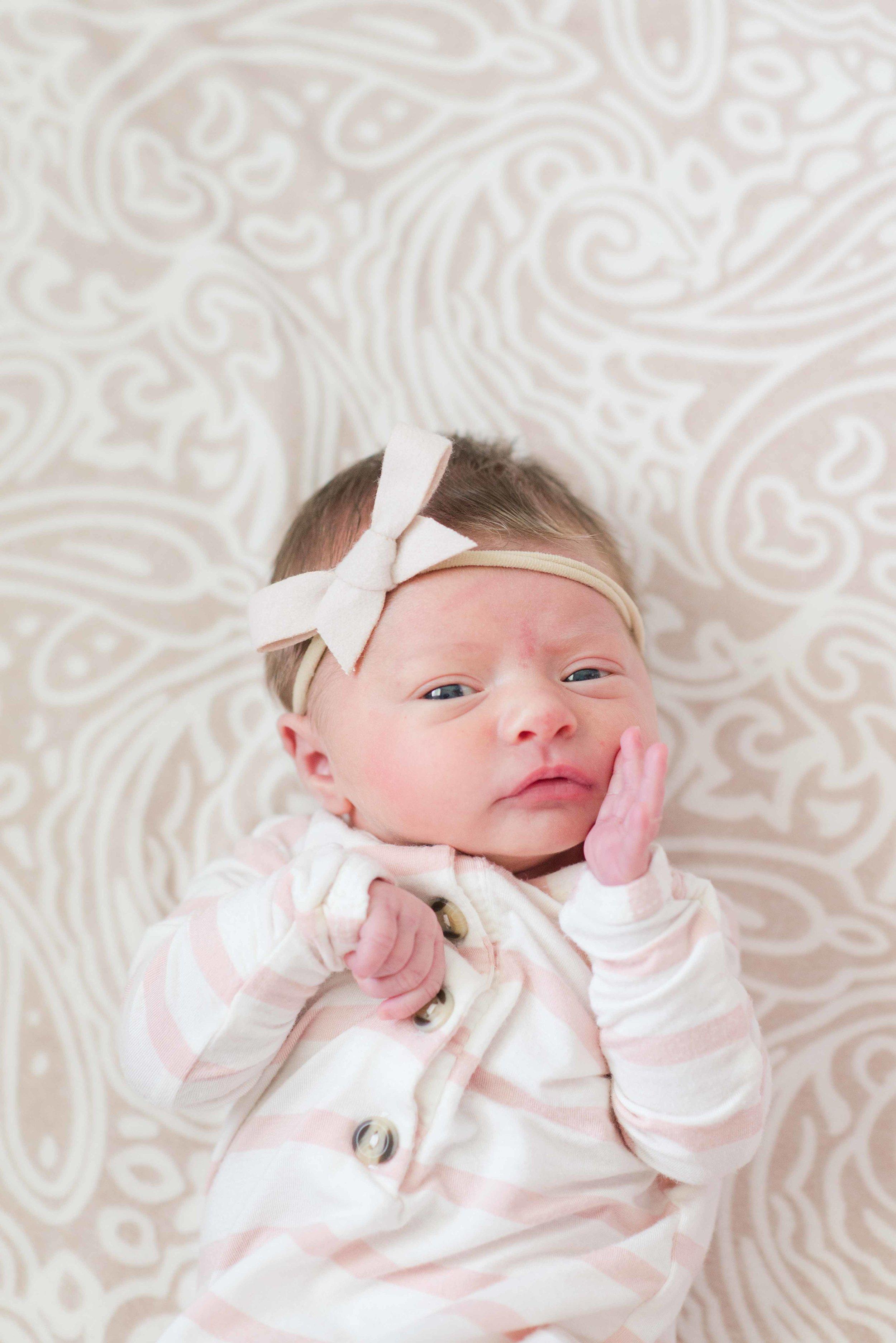 Lifestyle Newborn Portrait Session Alabama Photography Deborah Michelle Photography