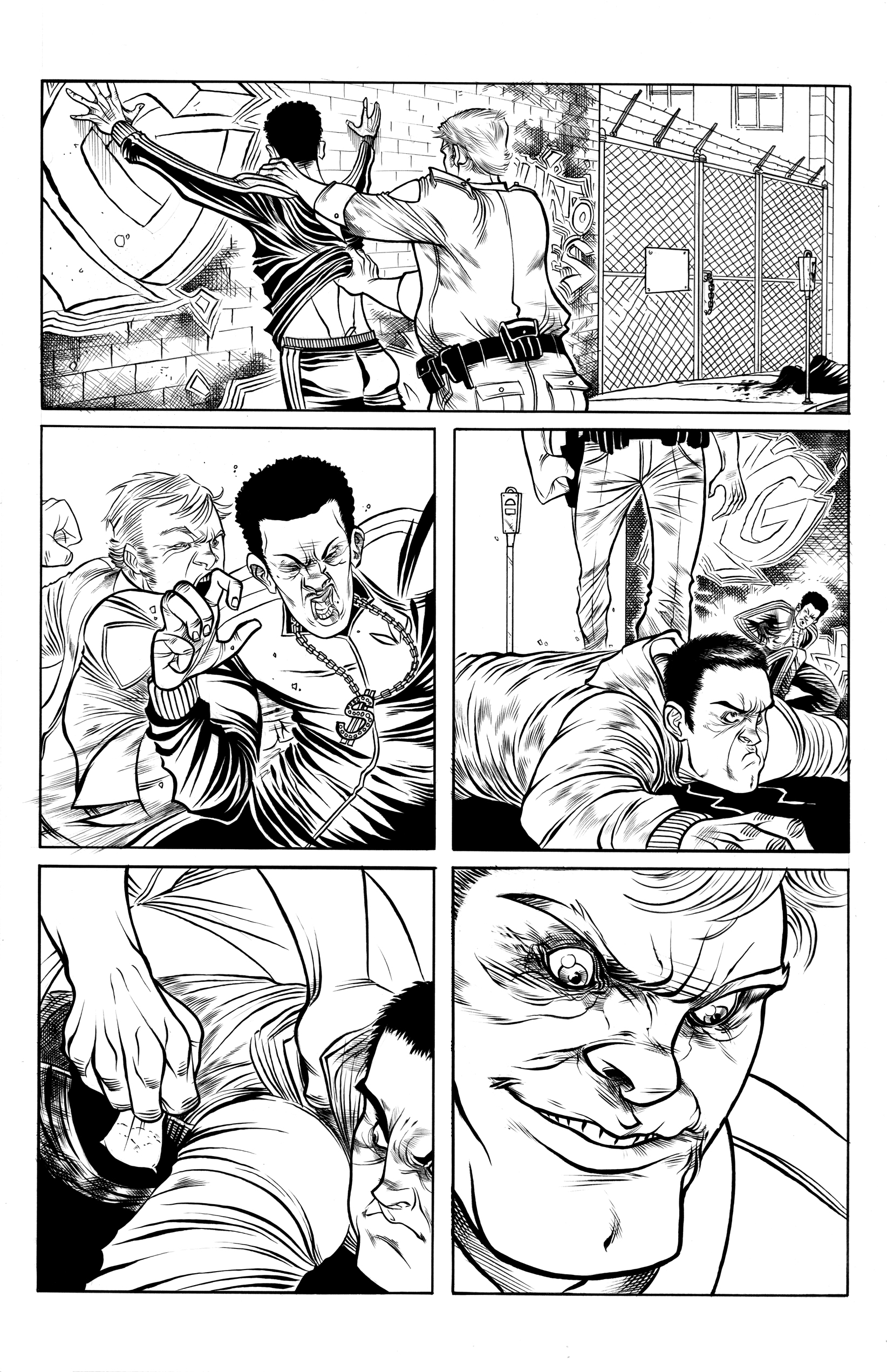 Inks: Tradd Moore / Copyright: H.C.M.P.