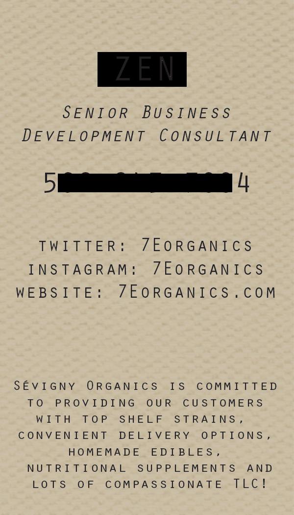 Copyright: Sevigny Organics