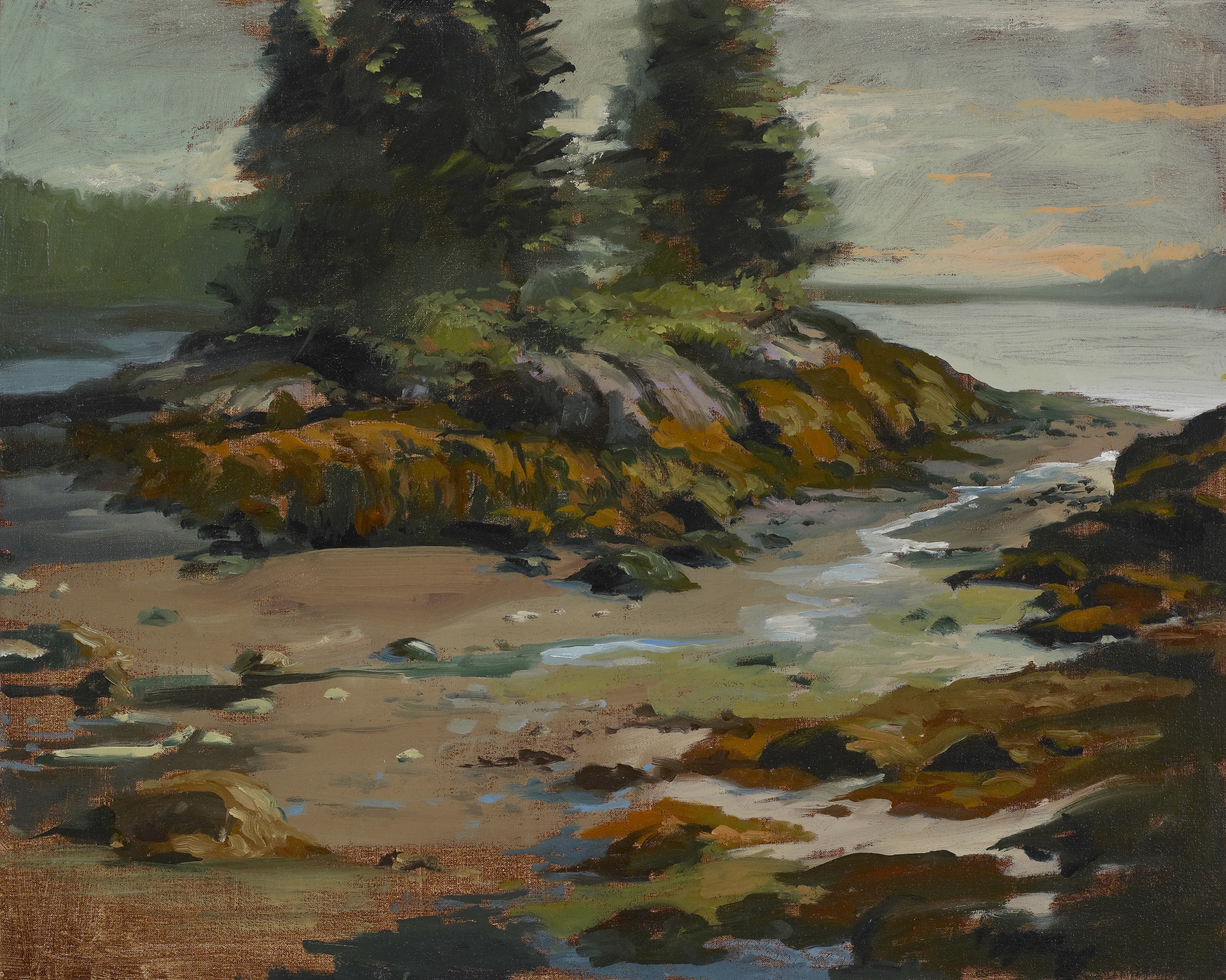 Christmas Cove<br>Oil on Canvas