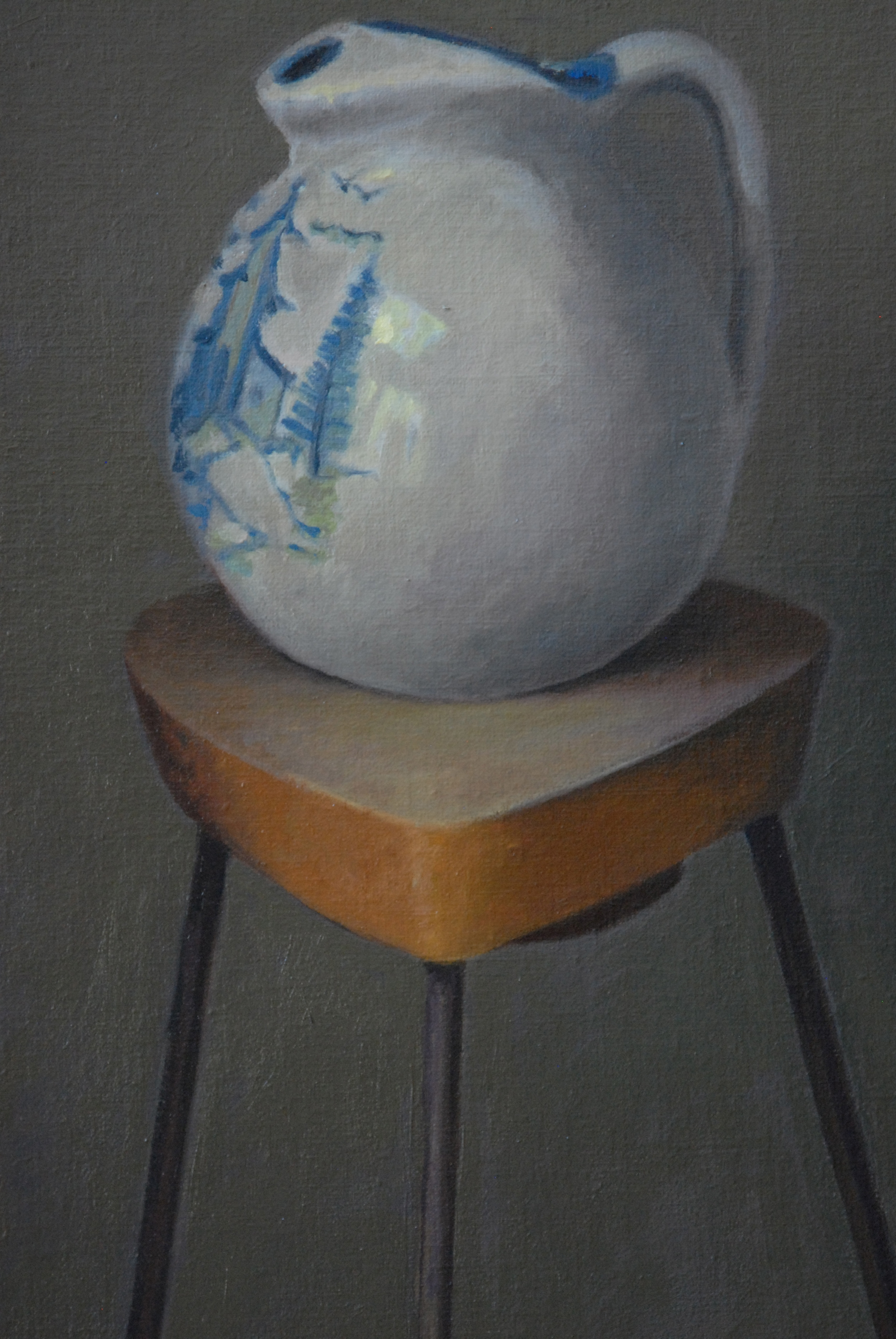 Water Pitcher<br>Oil on Canvas