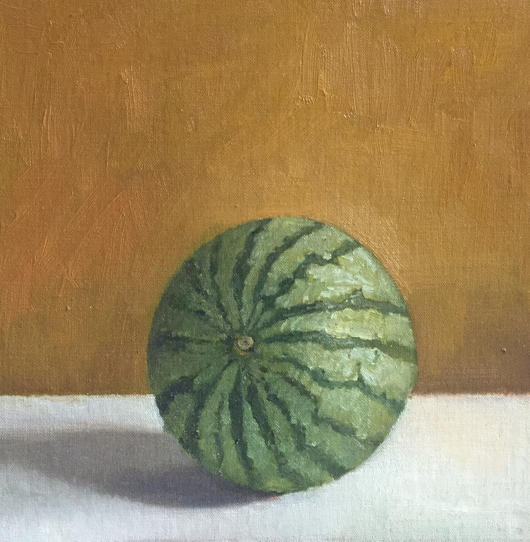 Watermelon<br>Oil on Canvas