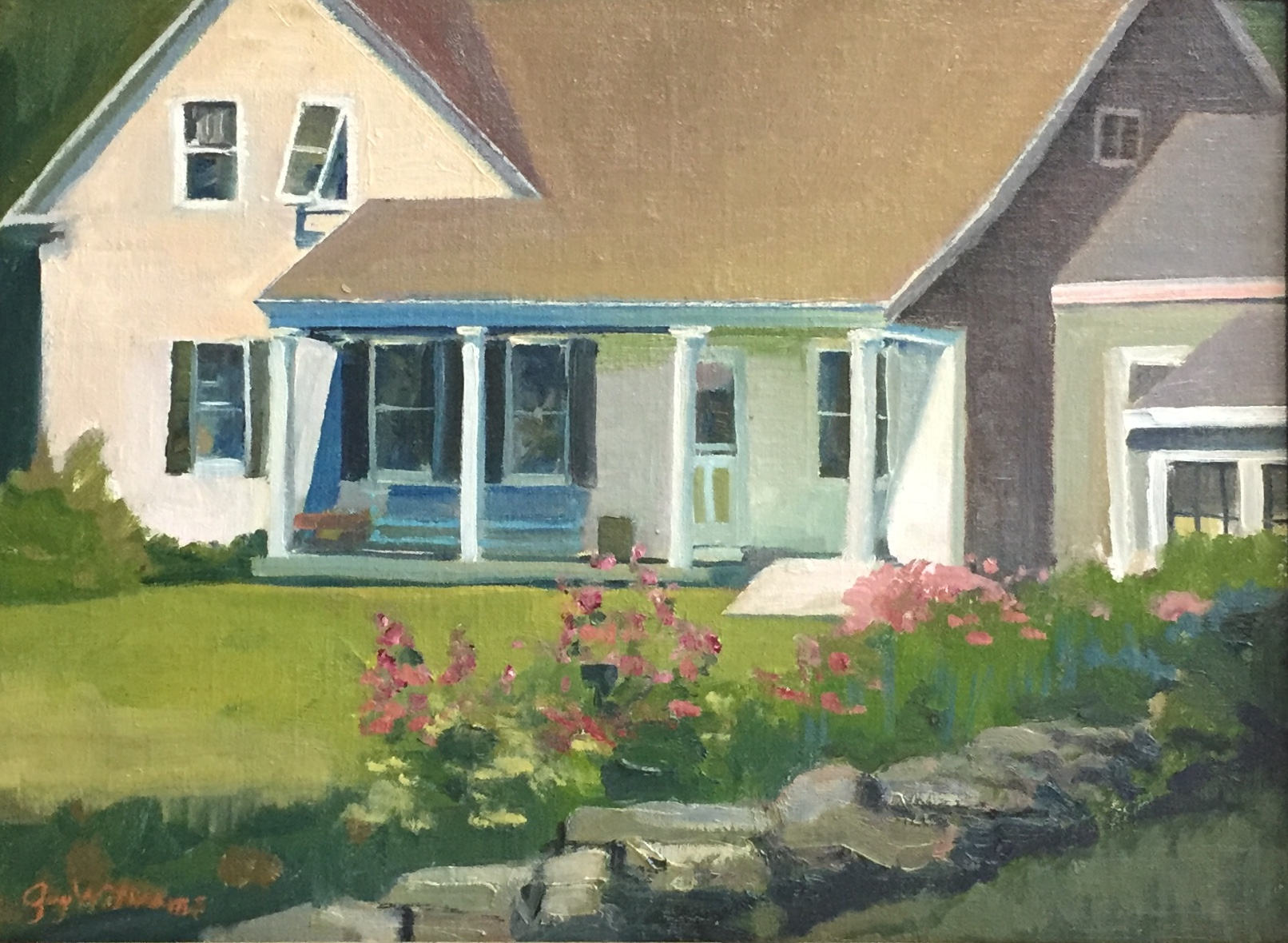Hardscrabble Farm<br>Oil on Canvas