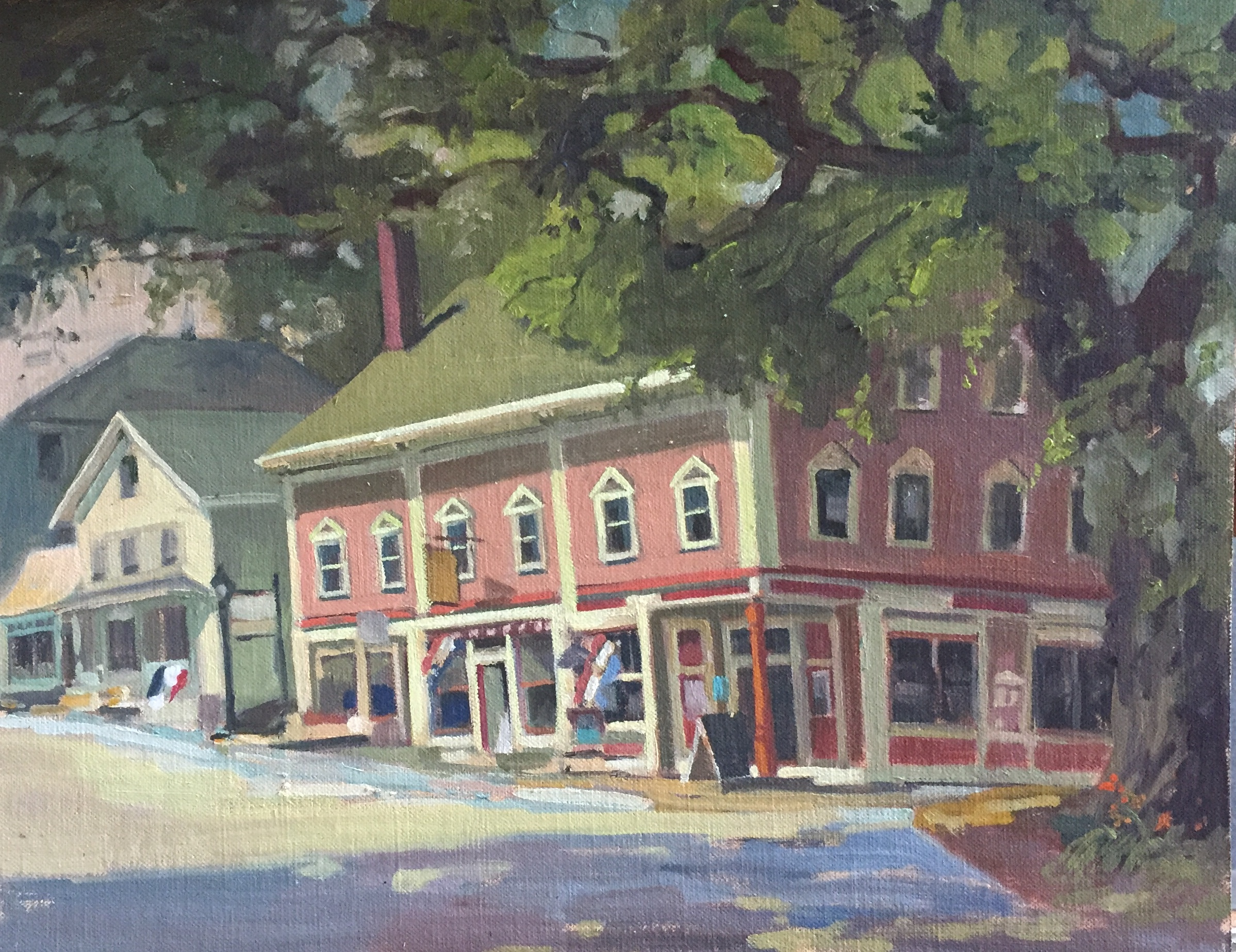 Castine, Maine<br>Oil on Canvas