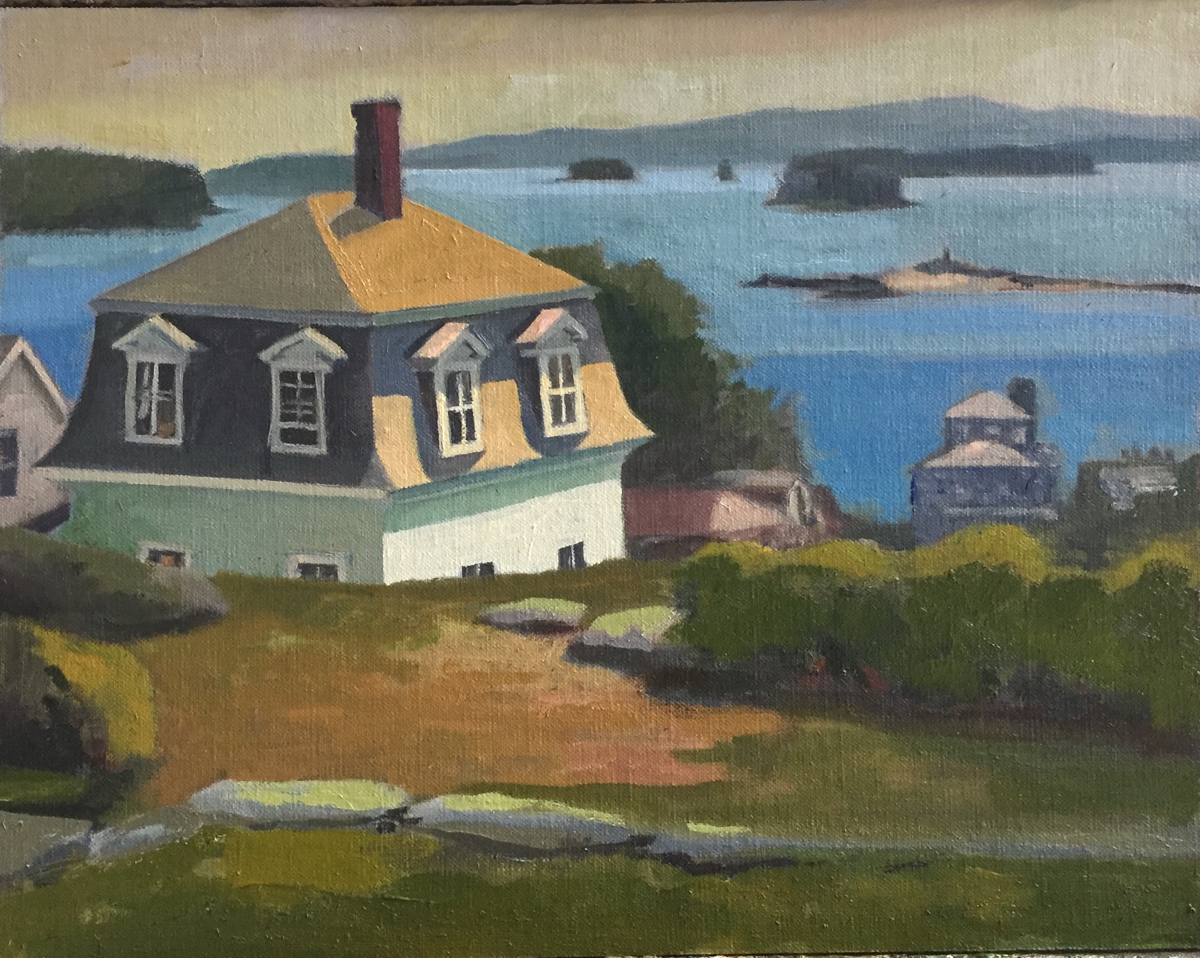 Stonington, Maine<br>Oil on Canvas