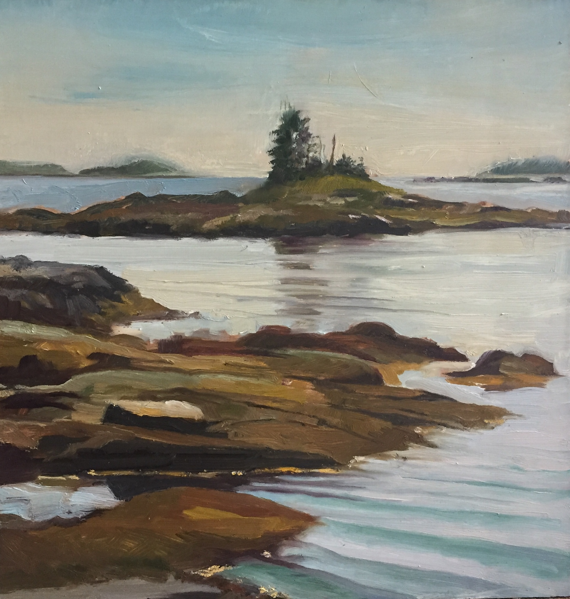 Ocean Point<br>Oil on Canvas