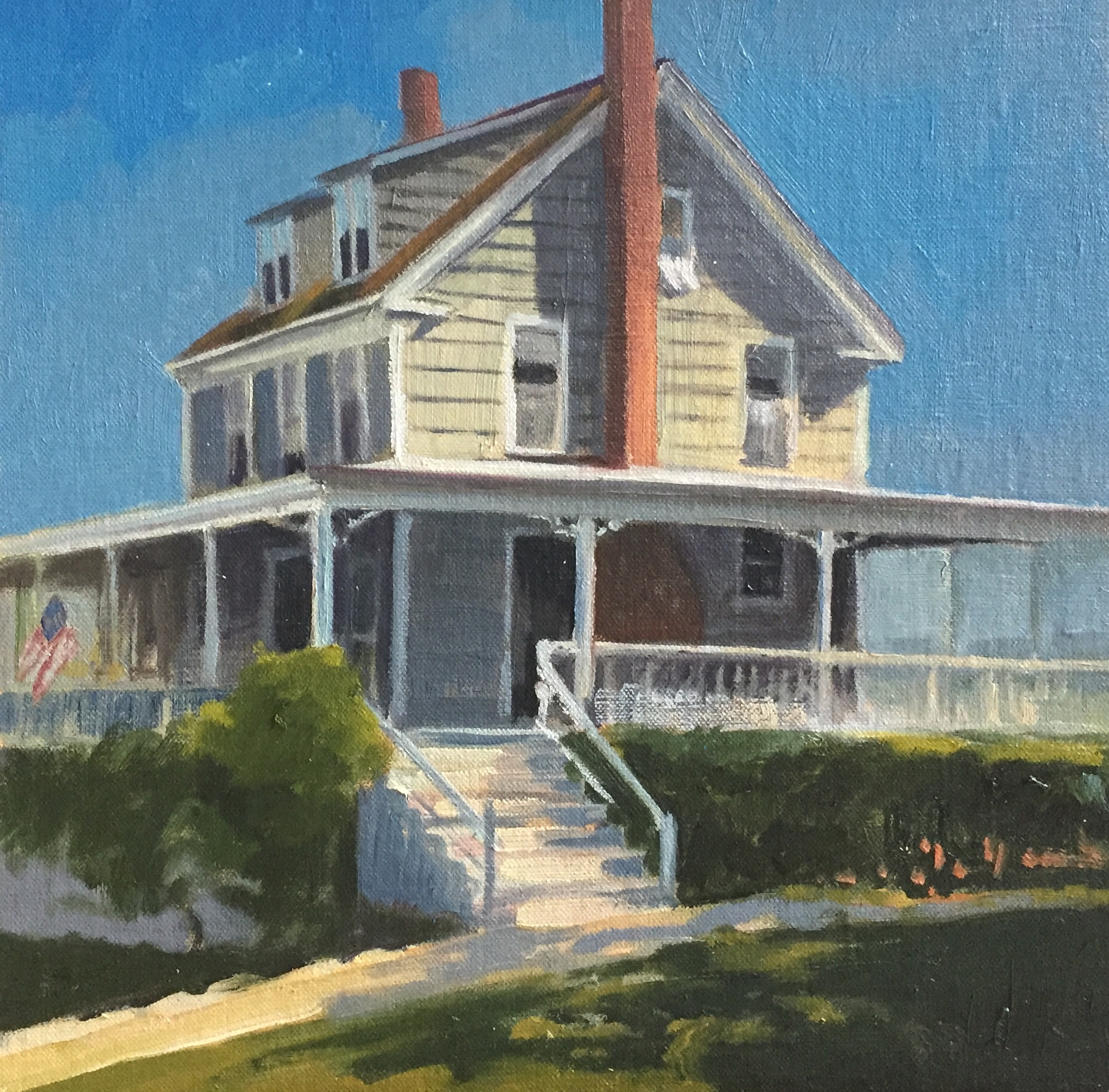 Thompson House<br>Oil on Canvas