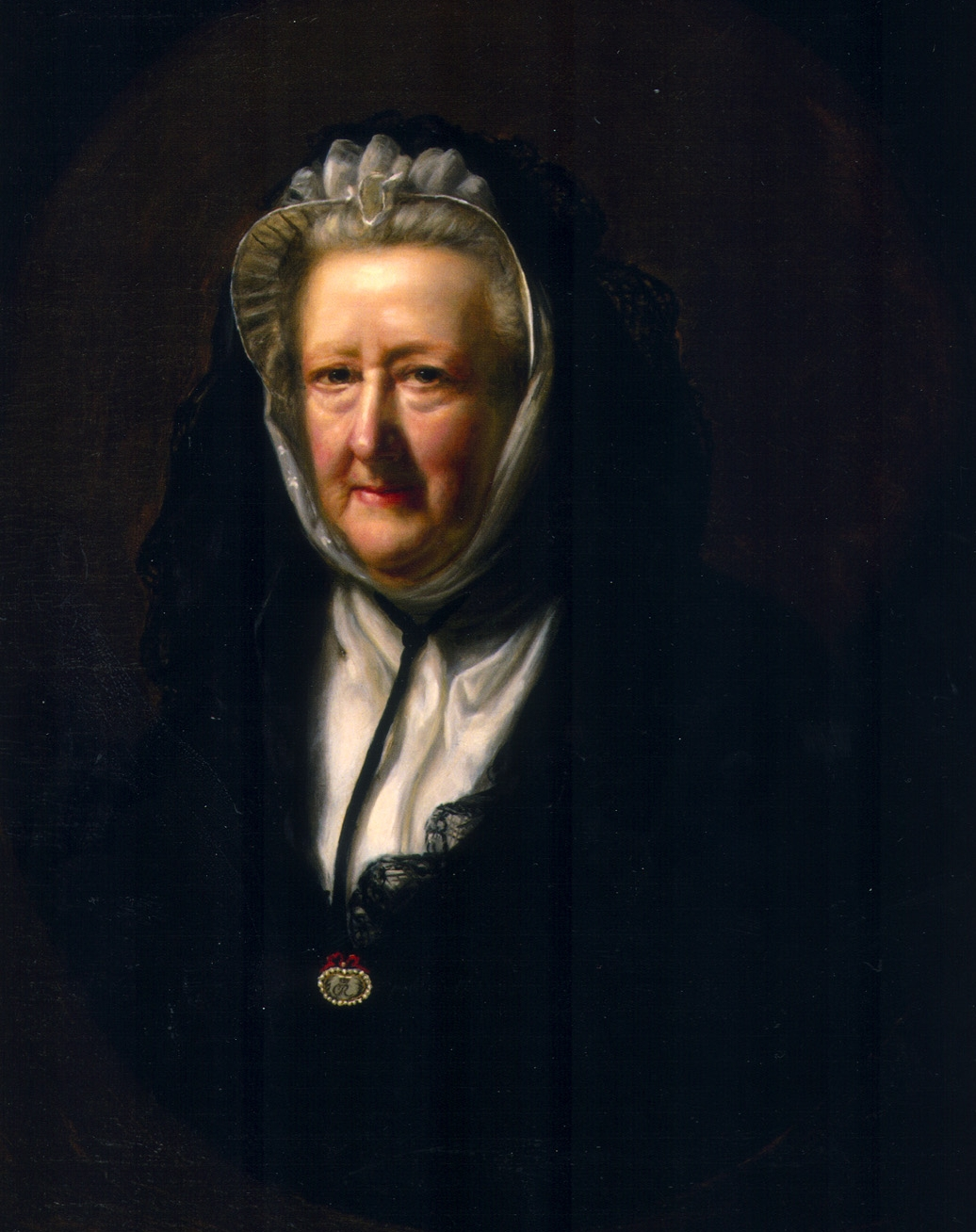 Painting of Mrs. Delany by John Opie, 1782