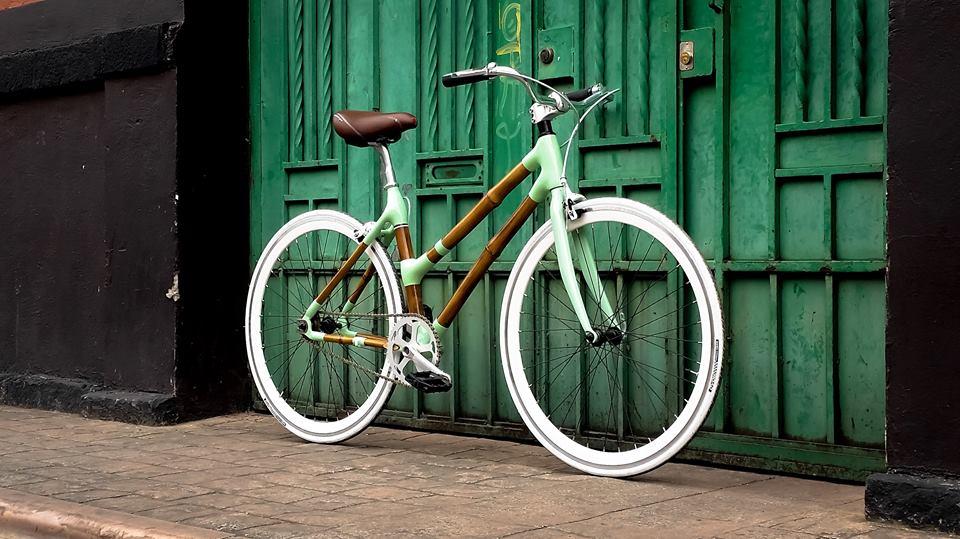 BICICLETA DE BAMBOO CYCLES   BAMBOO CYCLES